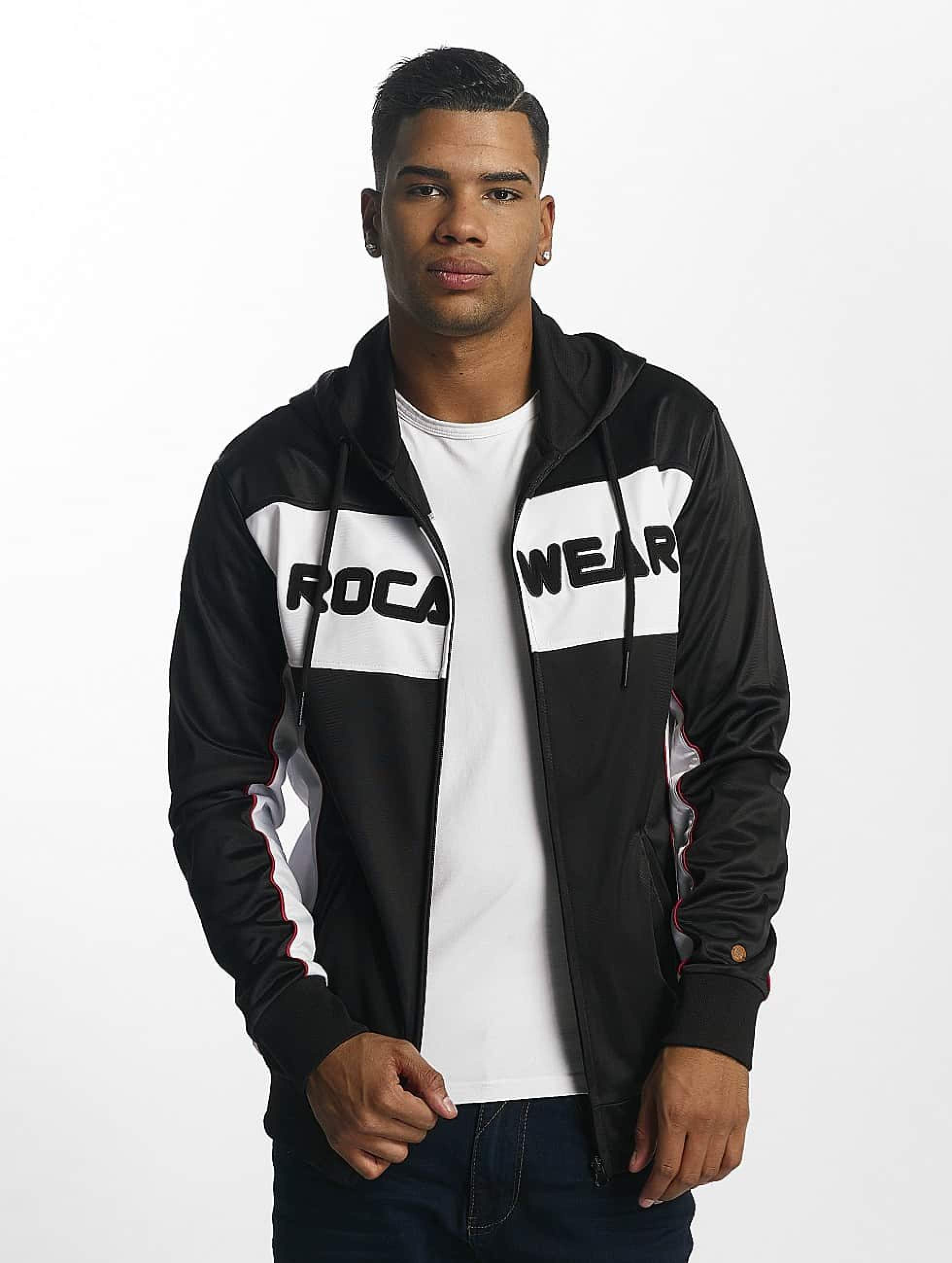 Rocawear / Zip Hoodie Sports in black XL