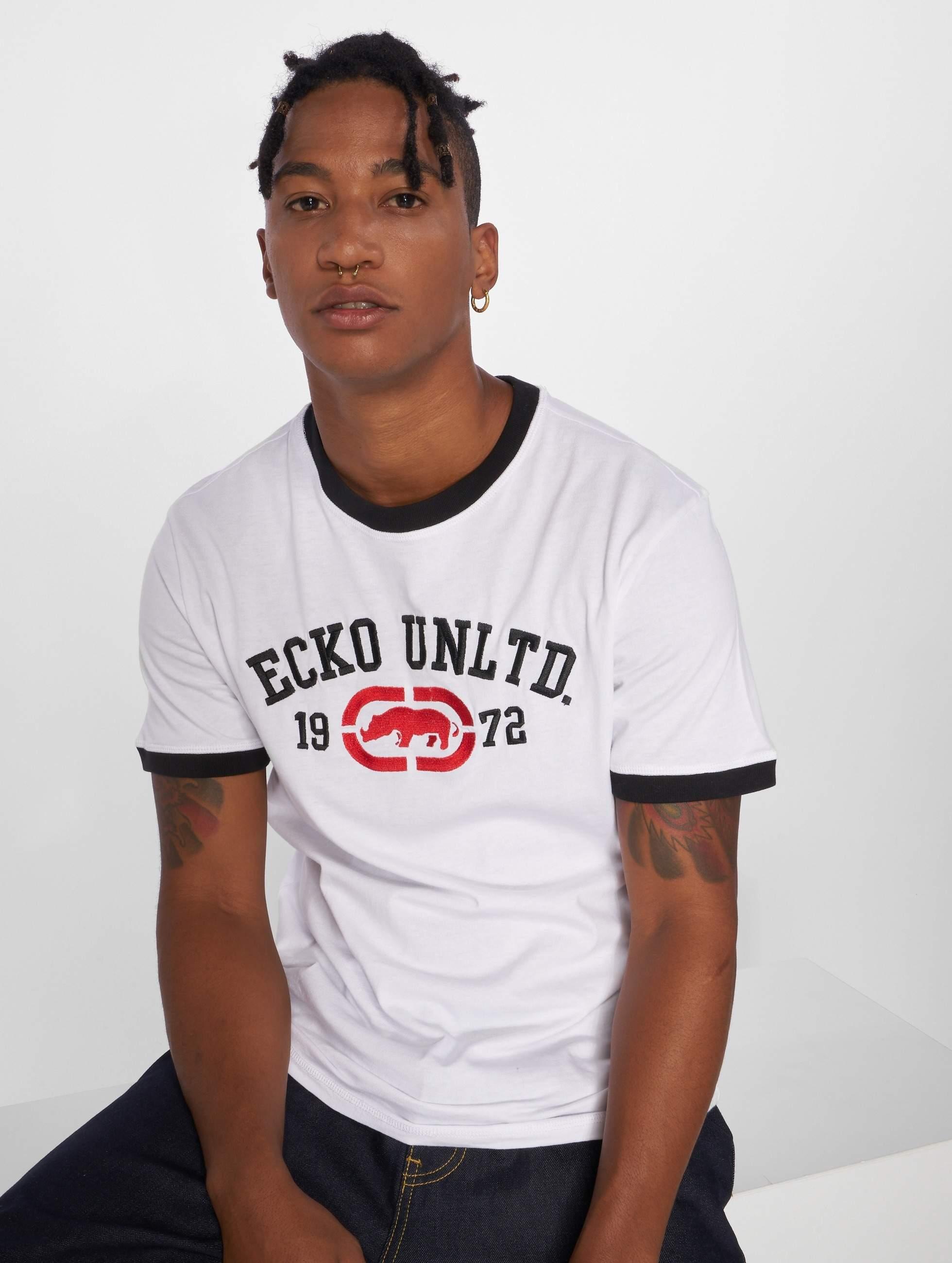Ecko Unltd. / T-Shirt First Avenue in white XXL