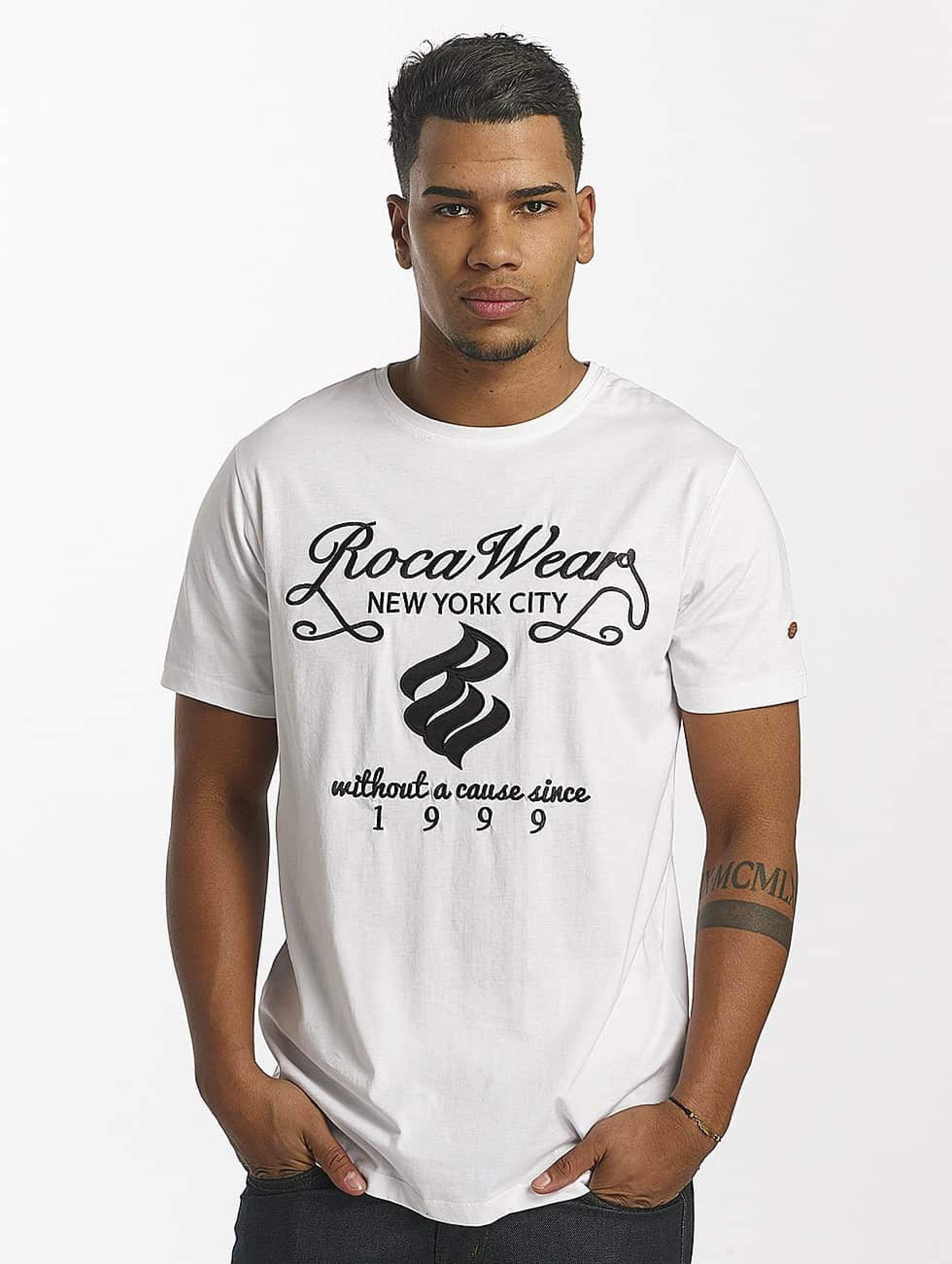 Rocawear / T-Shirt New York in white M