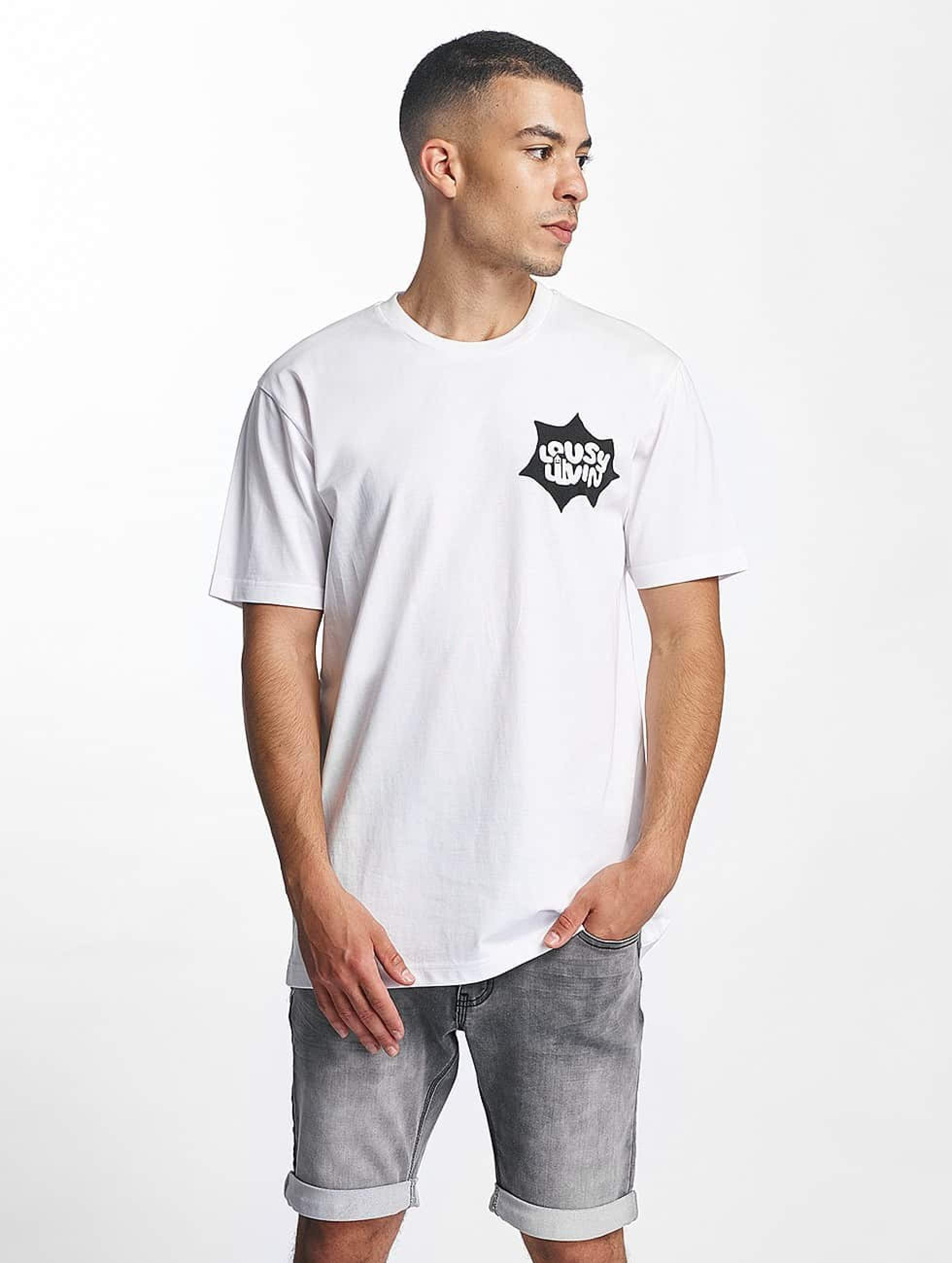 Lousy Livin | POW Basic blanc Homme T-Shirt