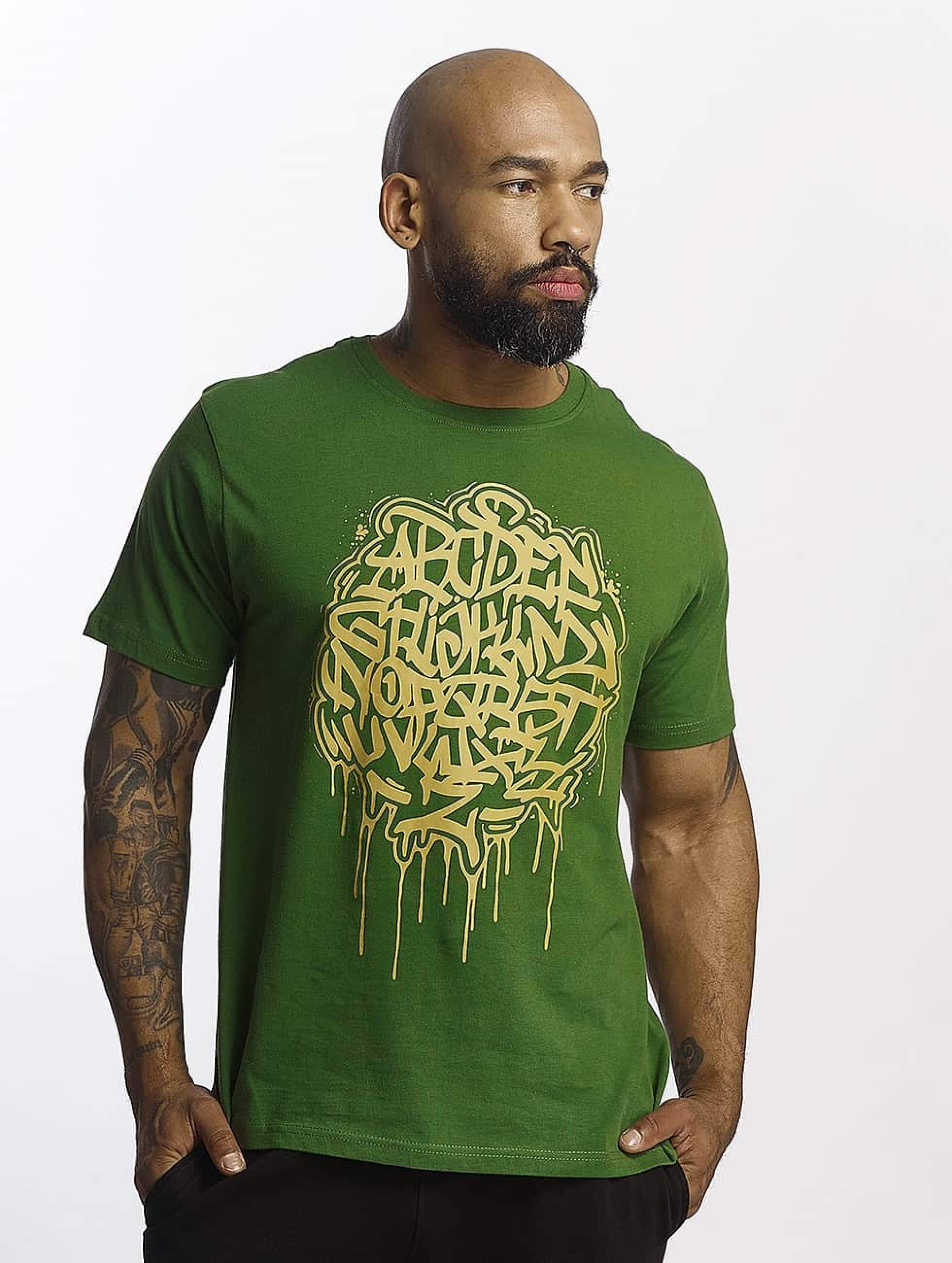 Dangerous DNGRS / T-Shirt Alpha DMARK in green S