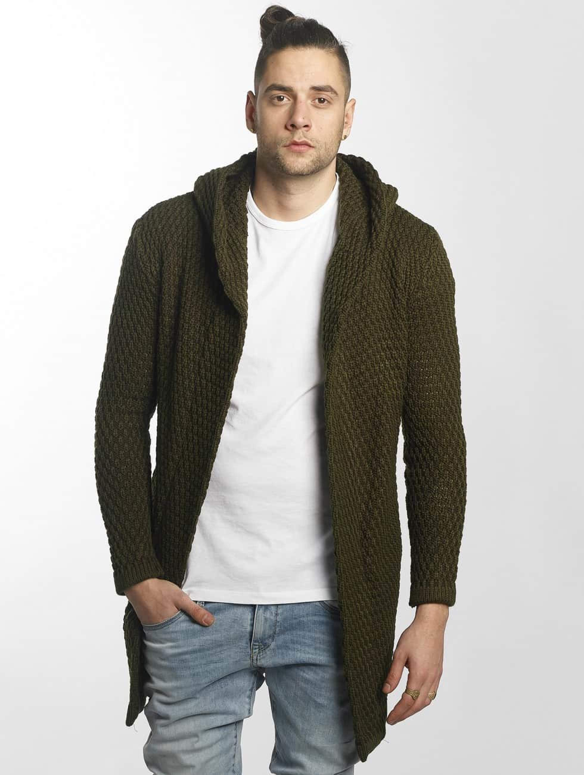 Bangastic / Cardigan Long in olive S