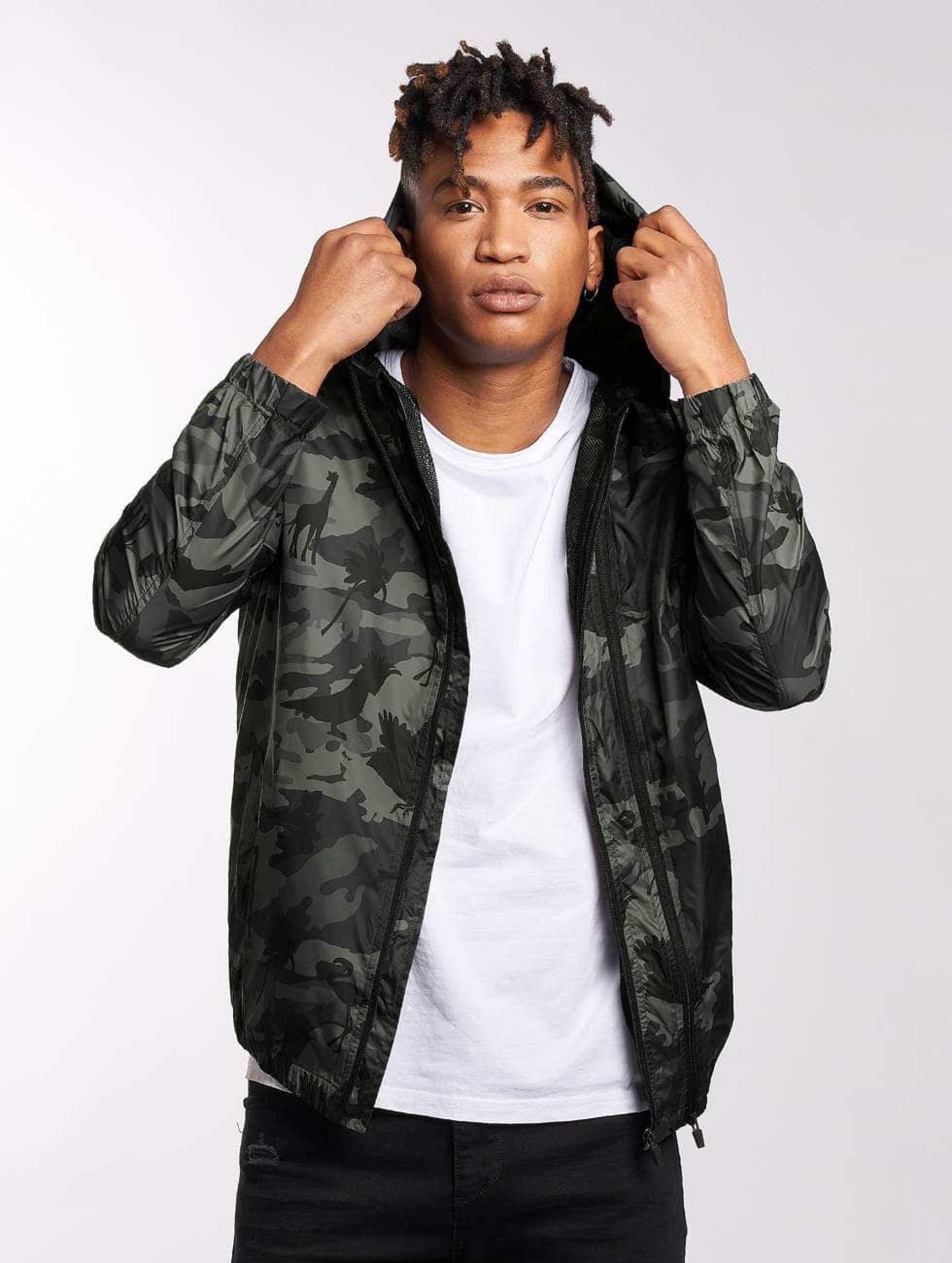 Bangastic / Lightweight Jacket Aznar in camouflage S