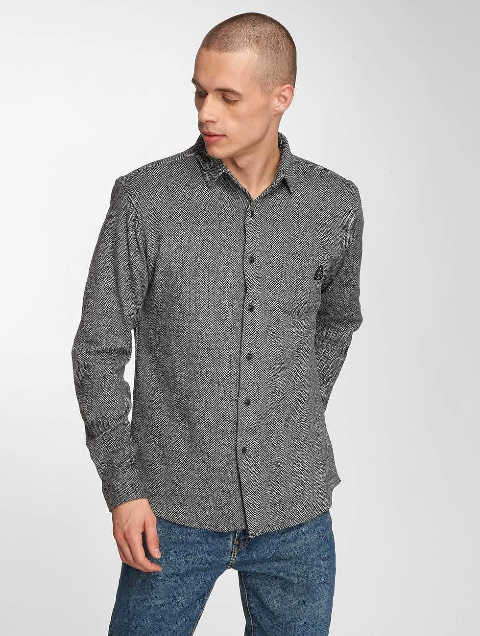 Just Rhyse / Shirt mono in grey L
