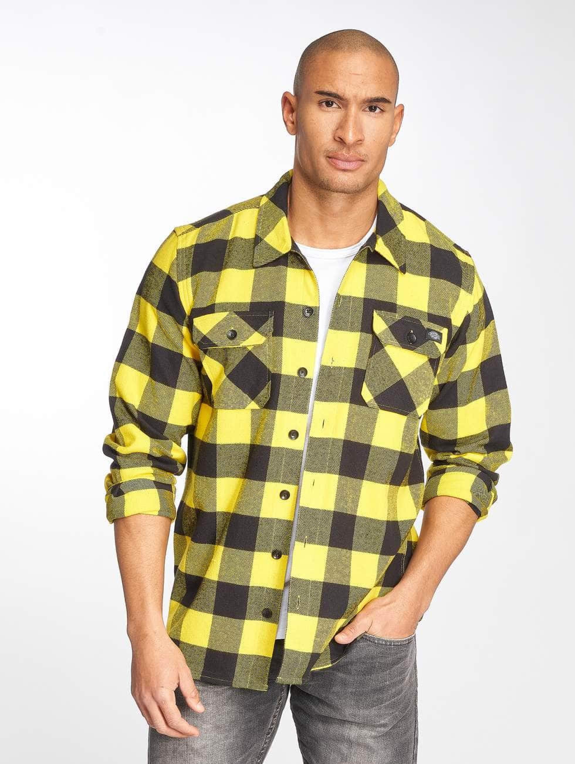 Dickies Männer Hemd Sacramento in gelb