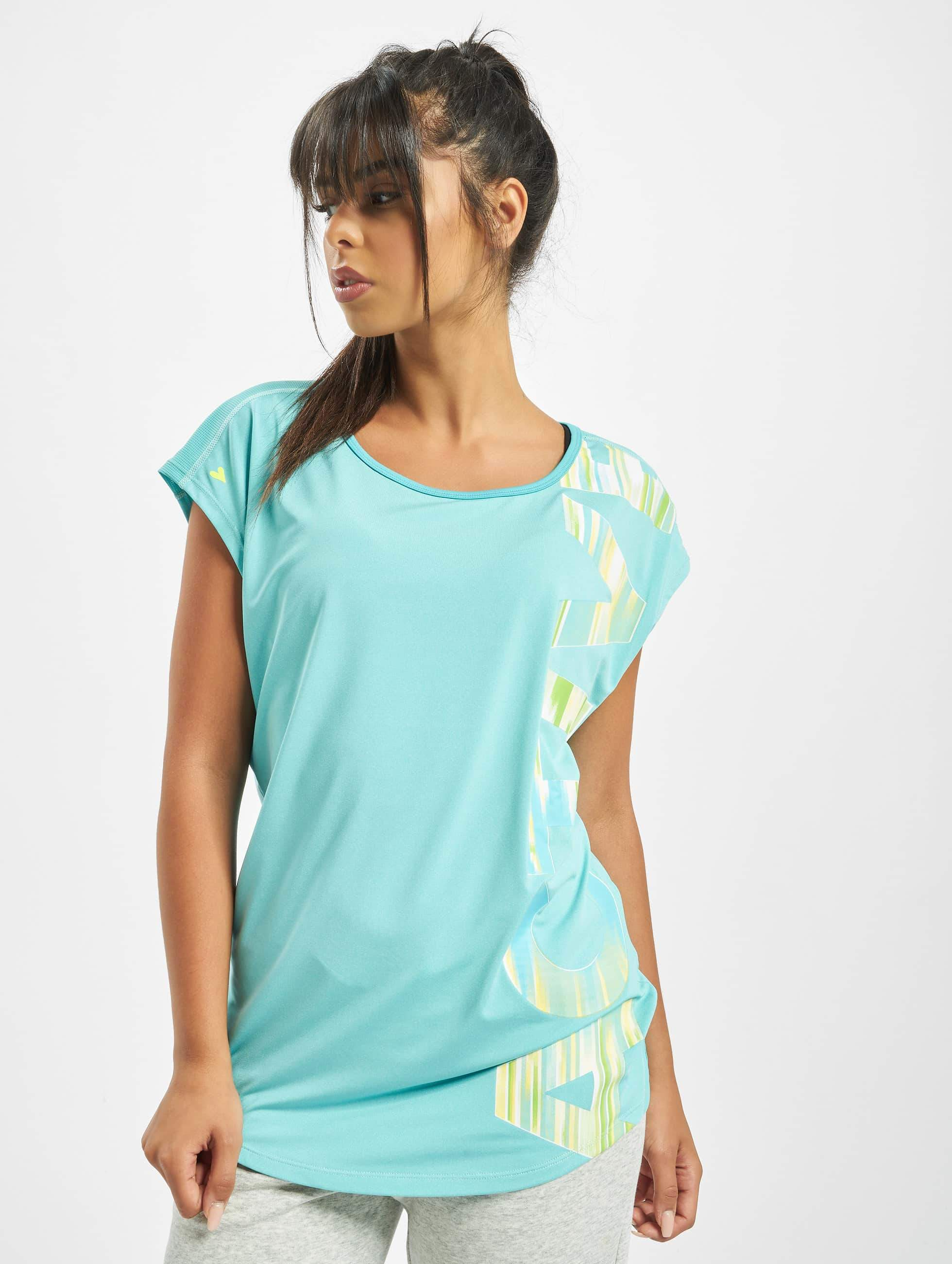 Just Rhyse / T-Shirt Mataura Active in blue XS
