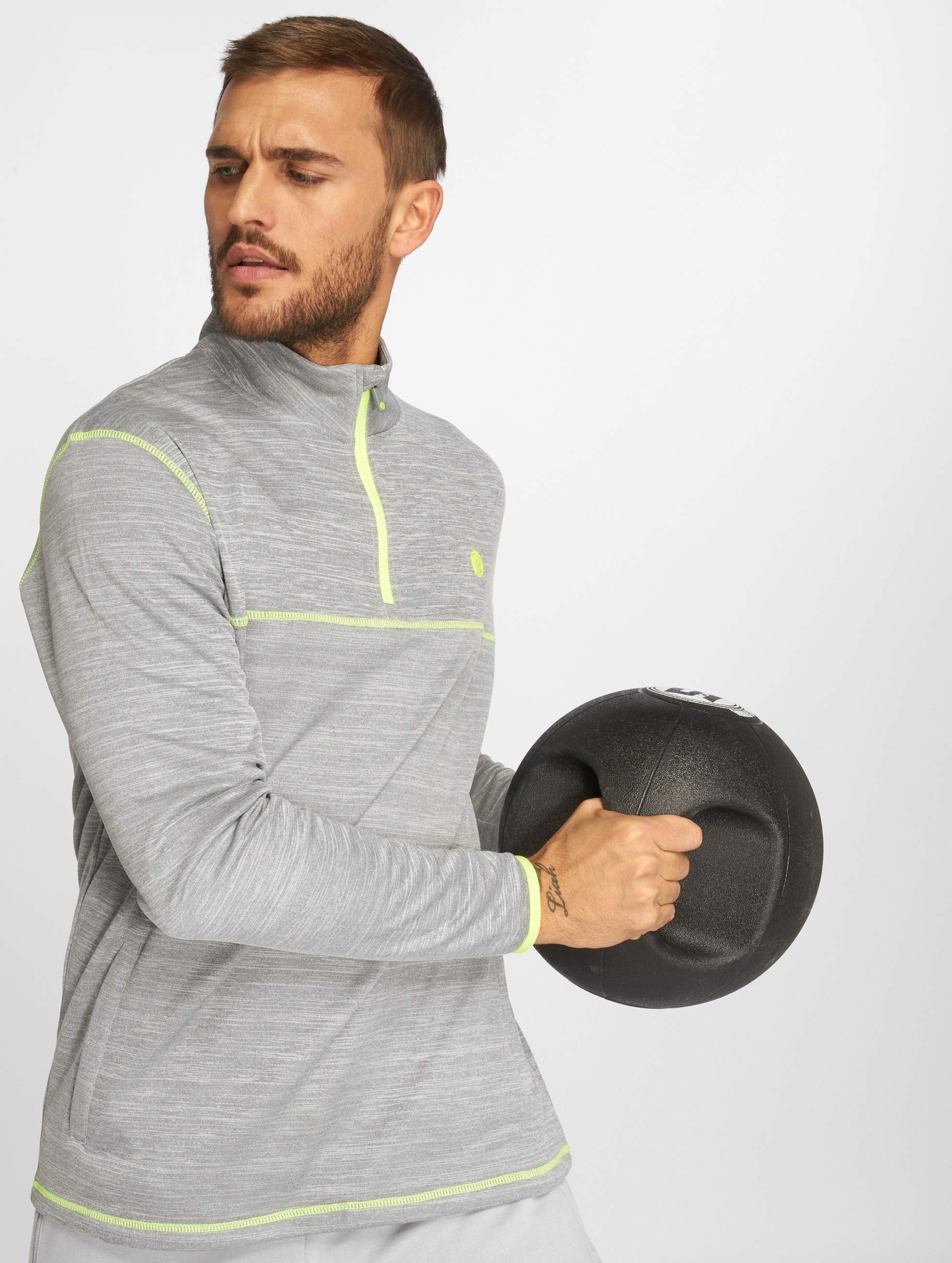 Just Rhyse / Jumper Albury Active in grey 3XL
