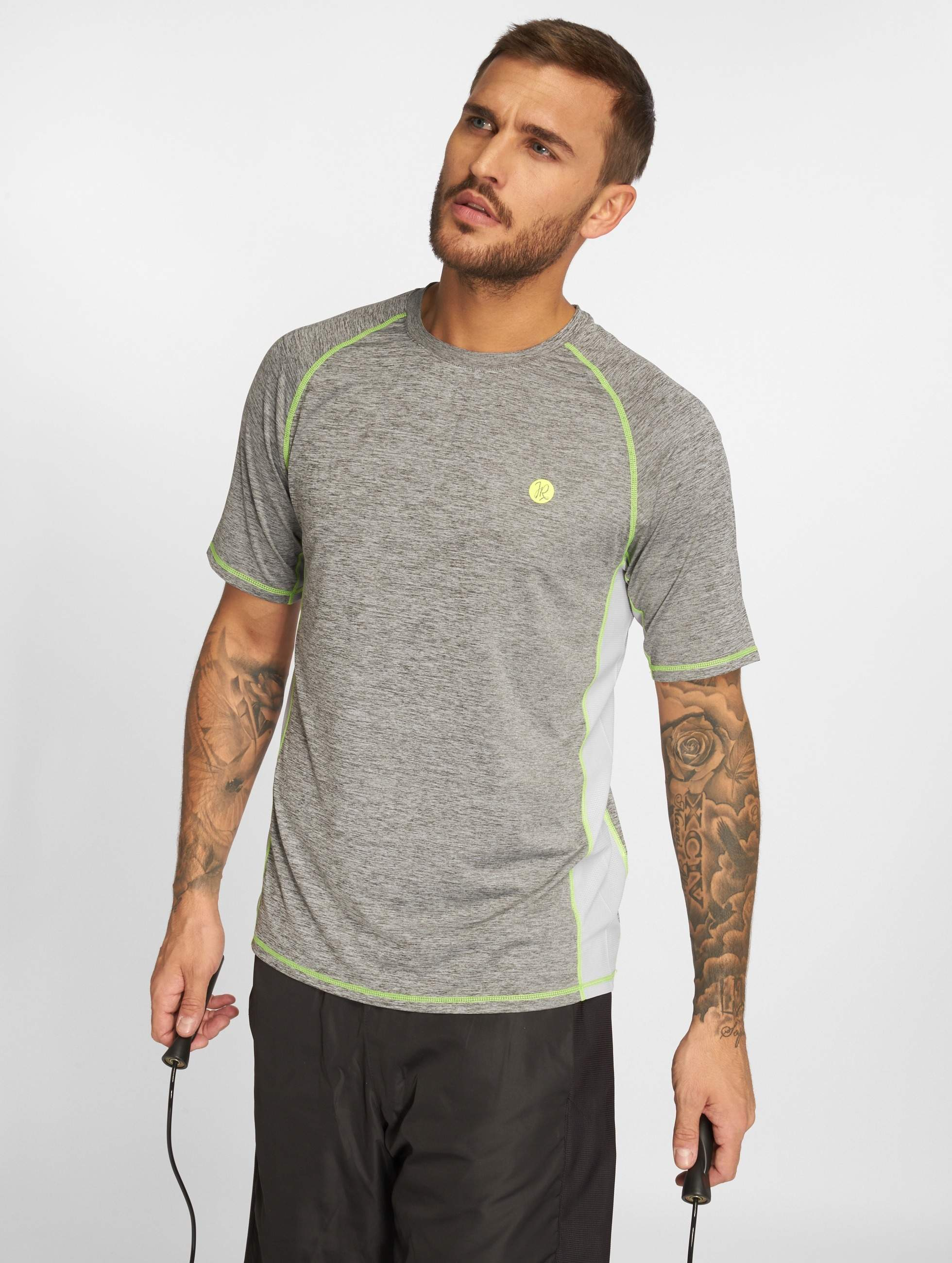 Just Rhyse / T-Shirt Adelaide Active in grey XL