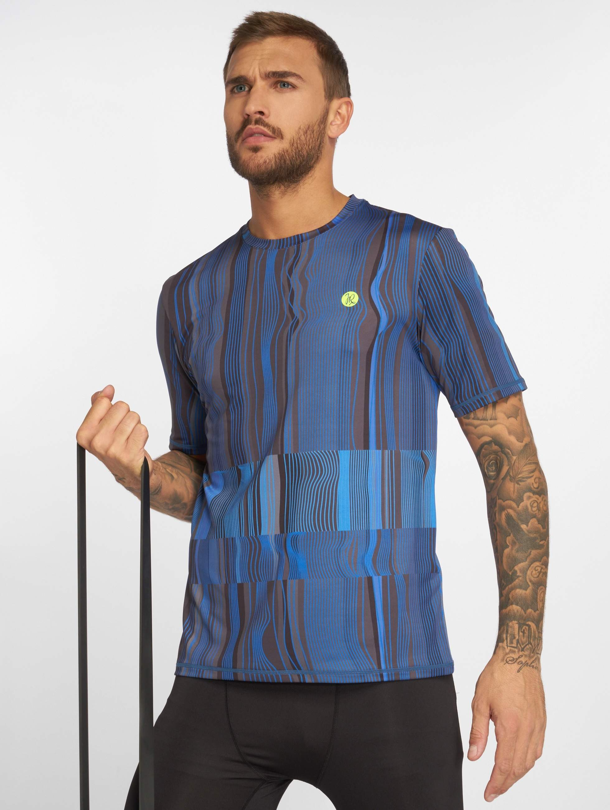 Just Rhyse / T-Shirt Mudgee Active in blue XL