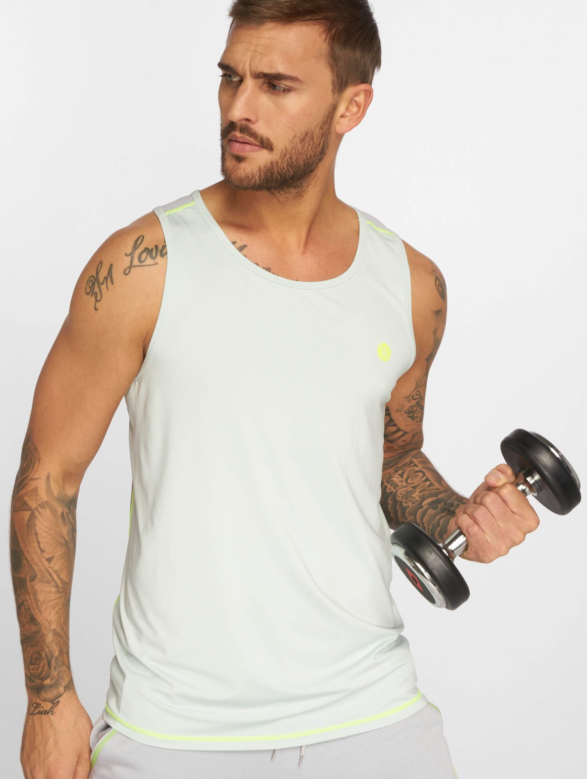 Just Rhyse / Tank Tops Perth Active in blue XL