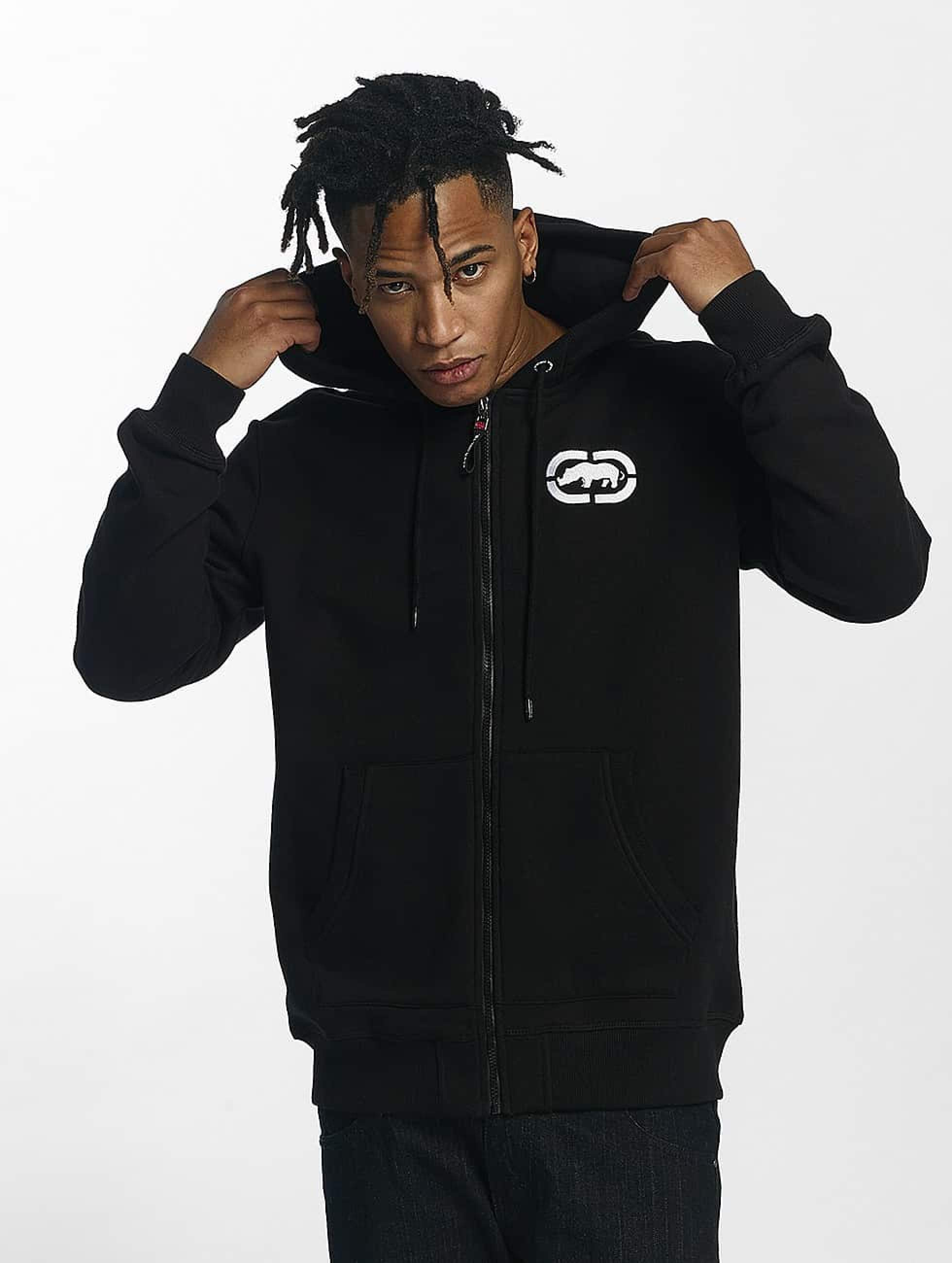 Ecko Unltd. / Zip Hoodie Base in black S