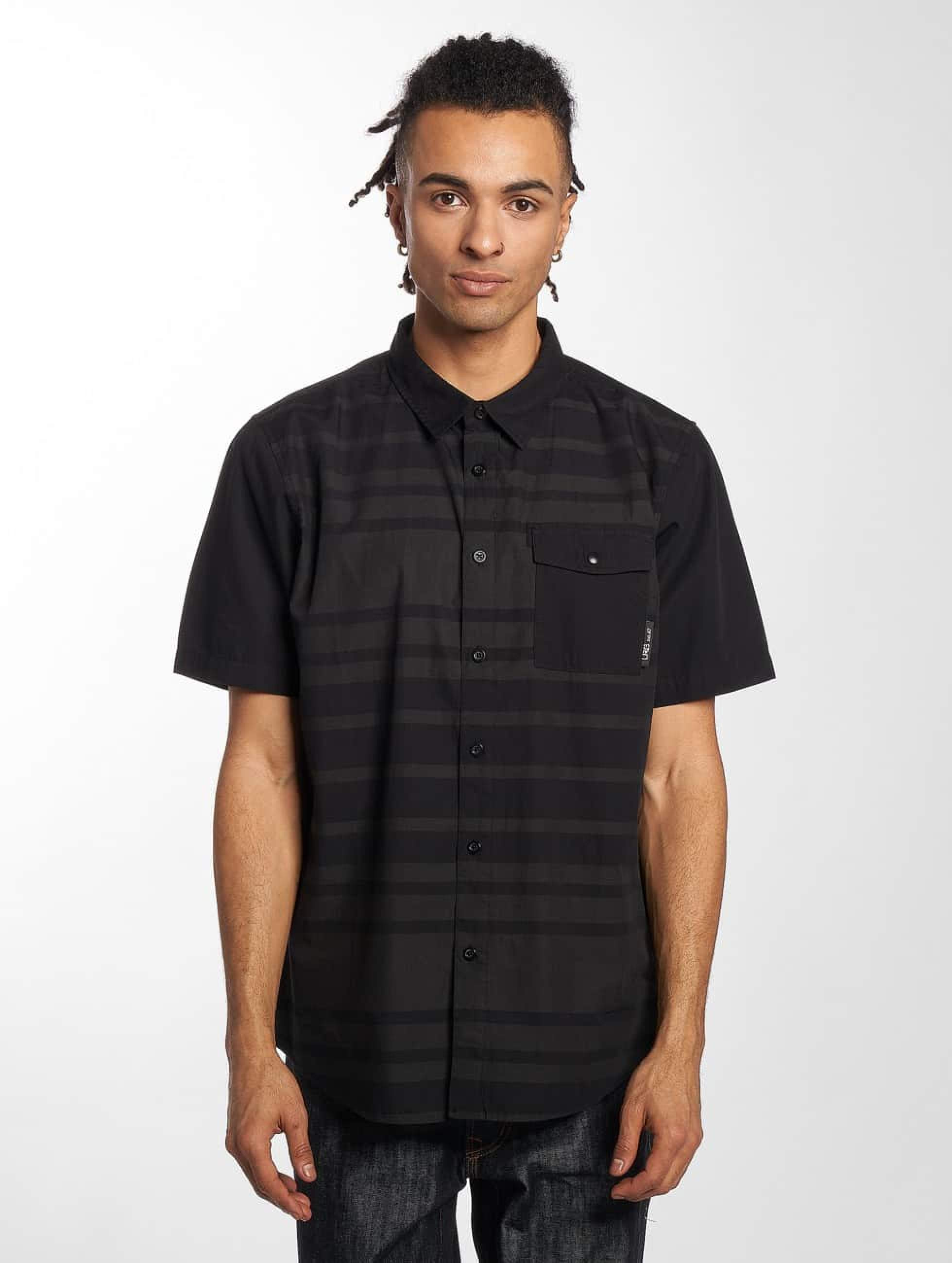 LRG Männer Hemd Ontour Woven in schwarz