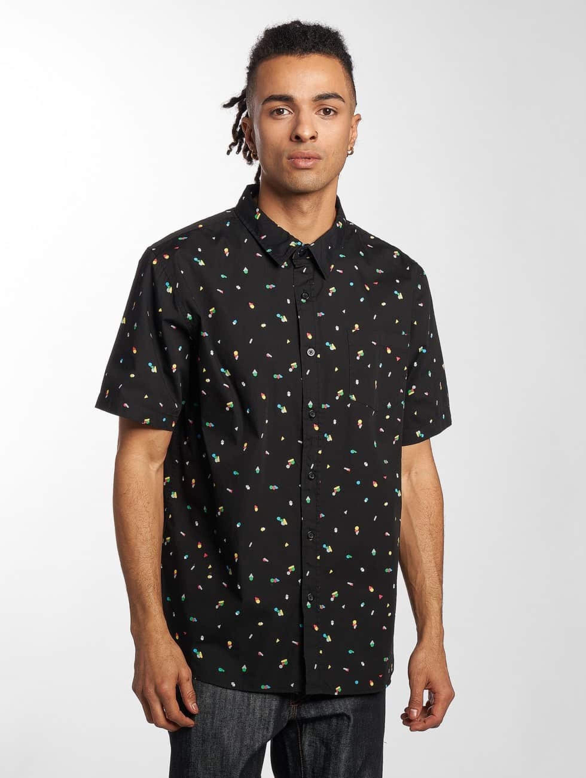 LRG Männer Hemd Infinite Blox in schwarz