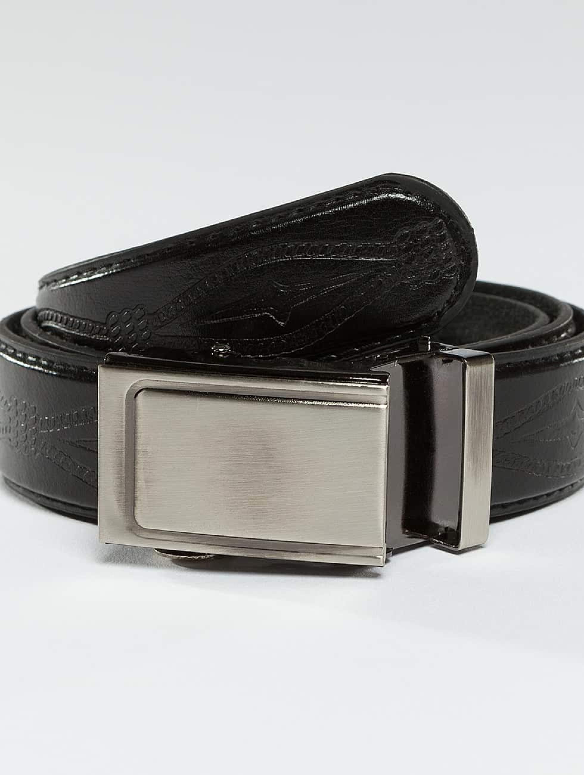 Kaiser Jewelry | Leather Belt noir Homme,Femme Ceinture