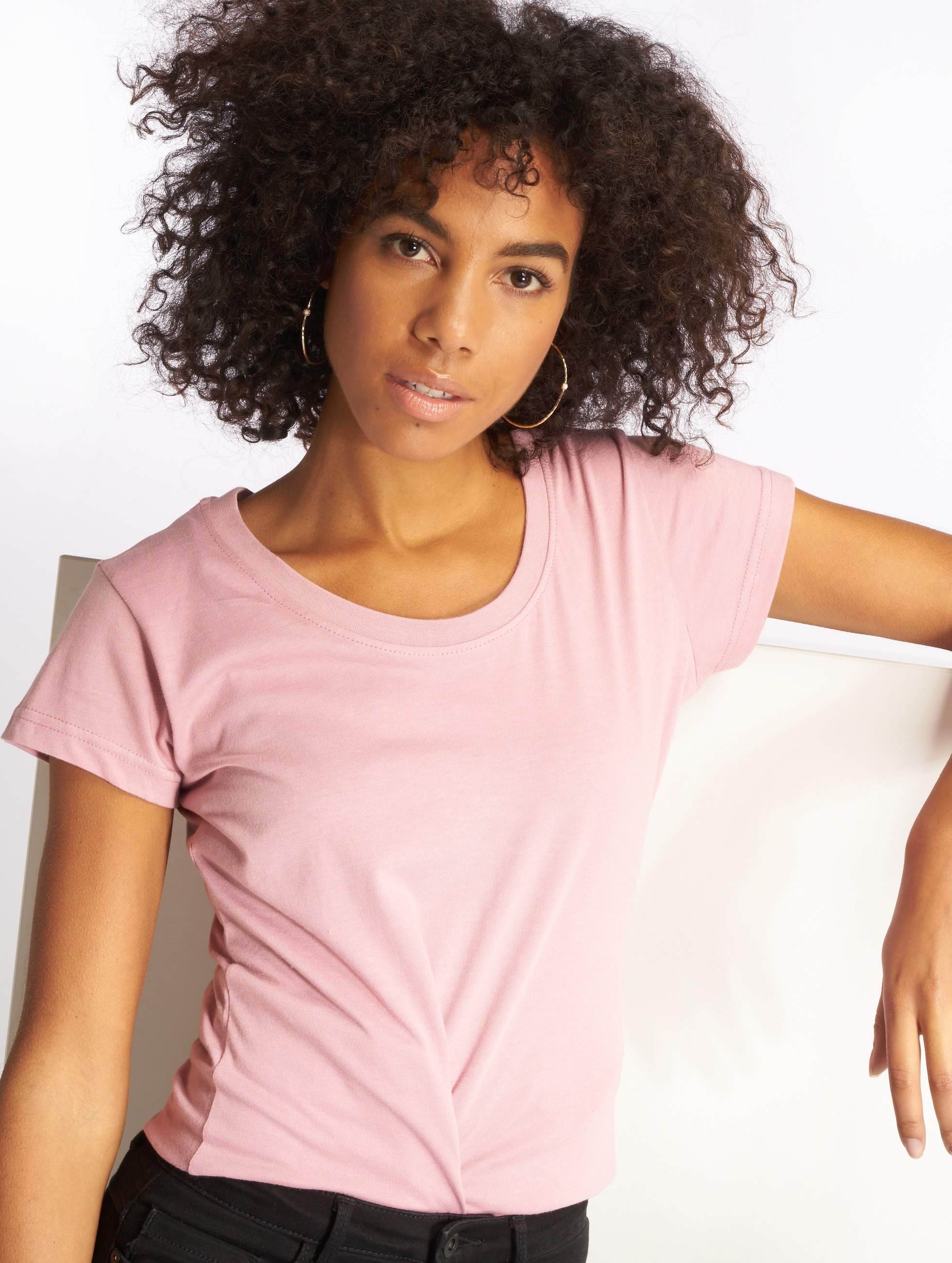 Cyprime / T-Shirt YedPrior in rose XS