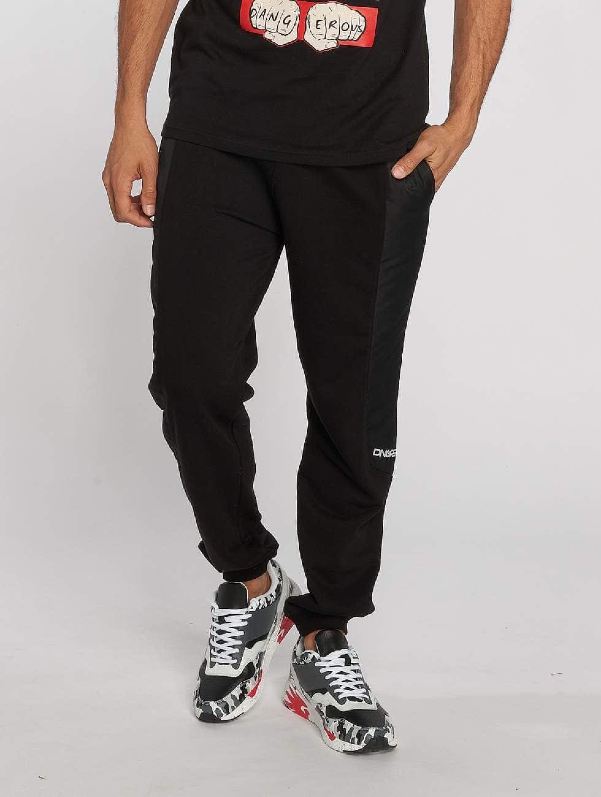 Dangerous DNGRS / Sweat Pant Tackle in black M