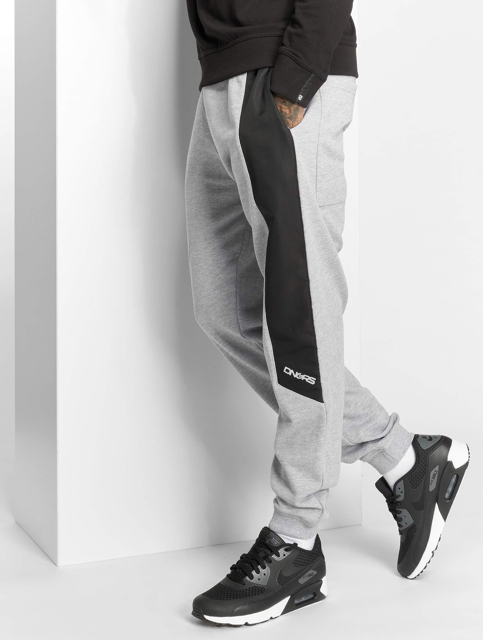 Dangerous DNGRS / Sweat Pant Tackle in grey 5XL