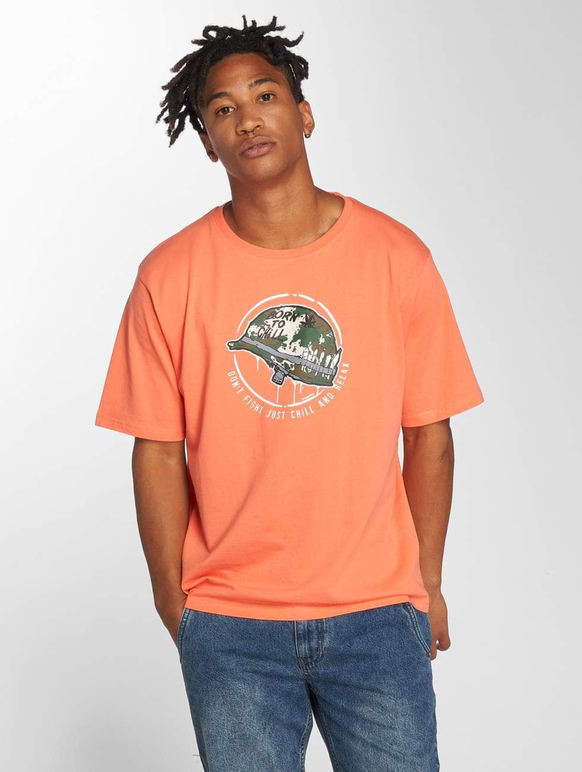 Dangerous DNGRS / T-Shirt Born2Chill in orange 3XL