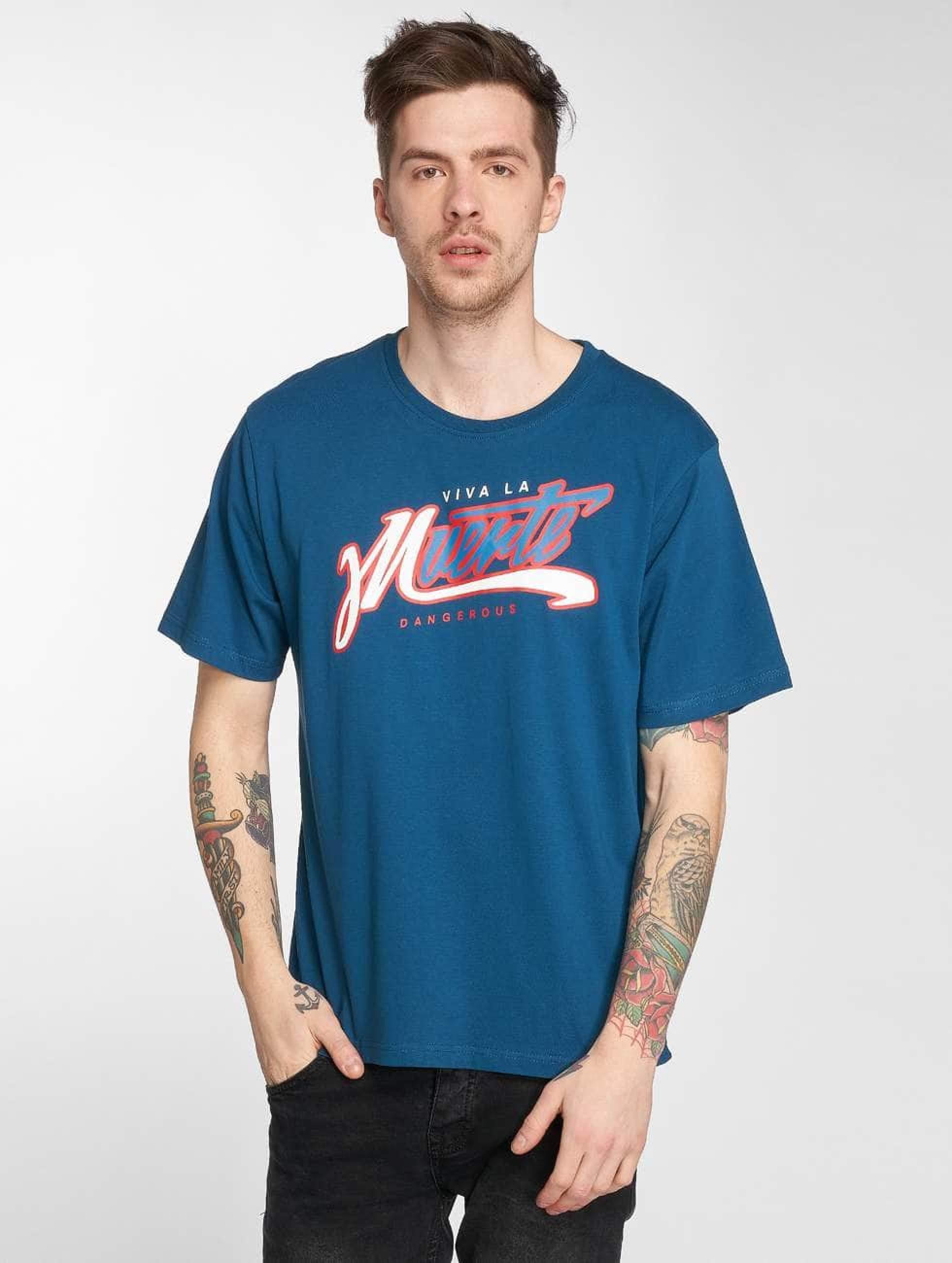 Dangerous DNGRS / T-Shirt Muerte in blue S
