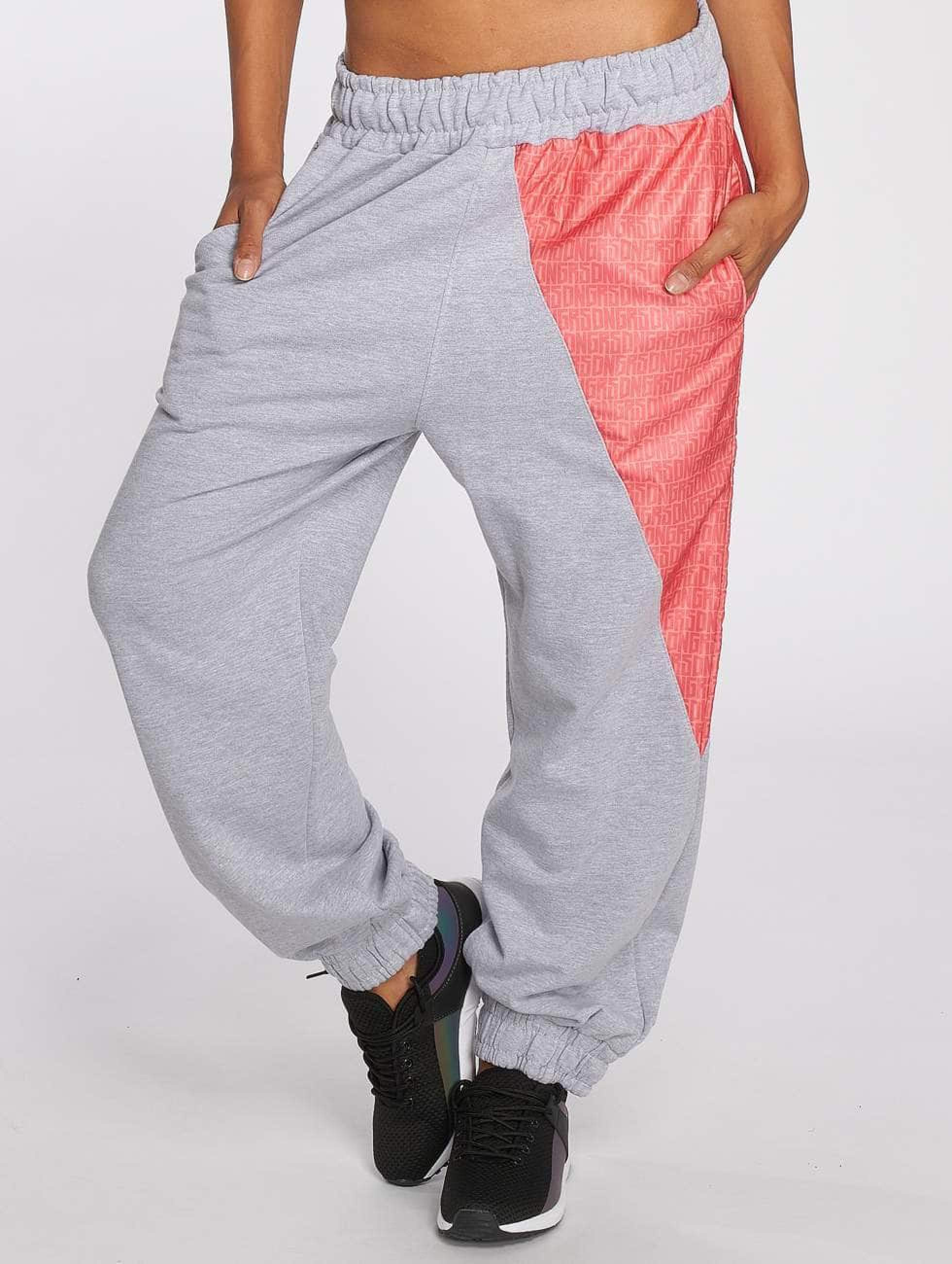 Dangerous DNGRS / Sweat Pant Tackle in grey L