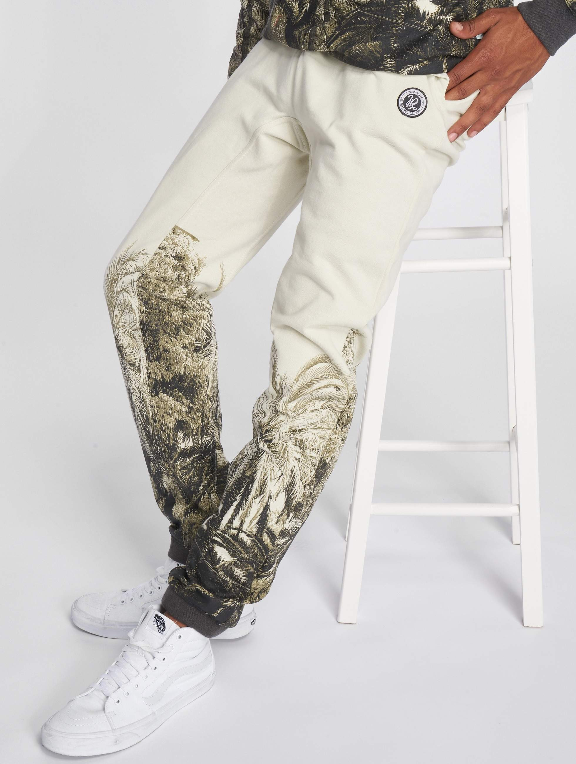 Just Rhyse / Sweat Pant Acora in white S