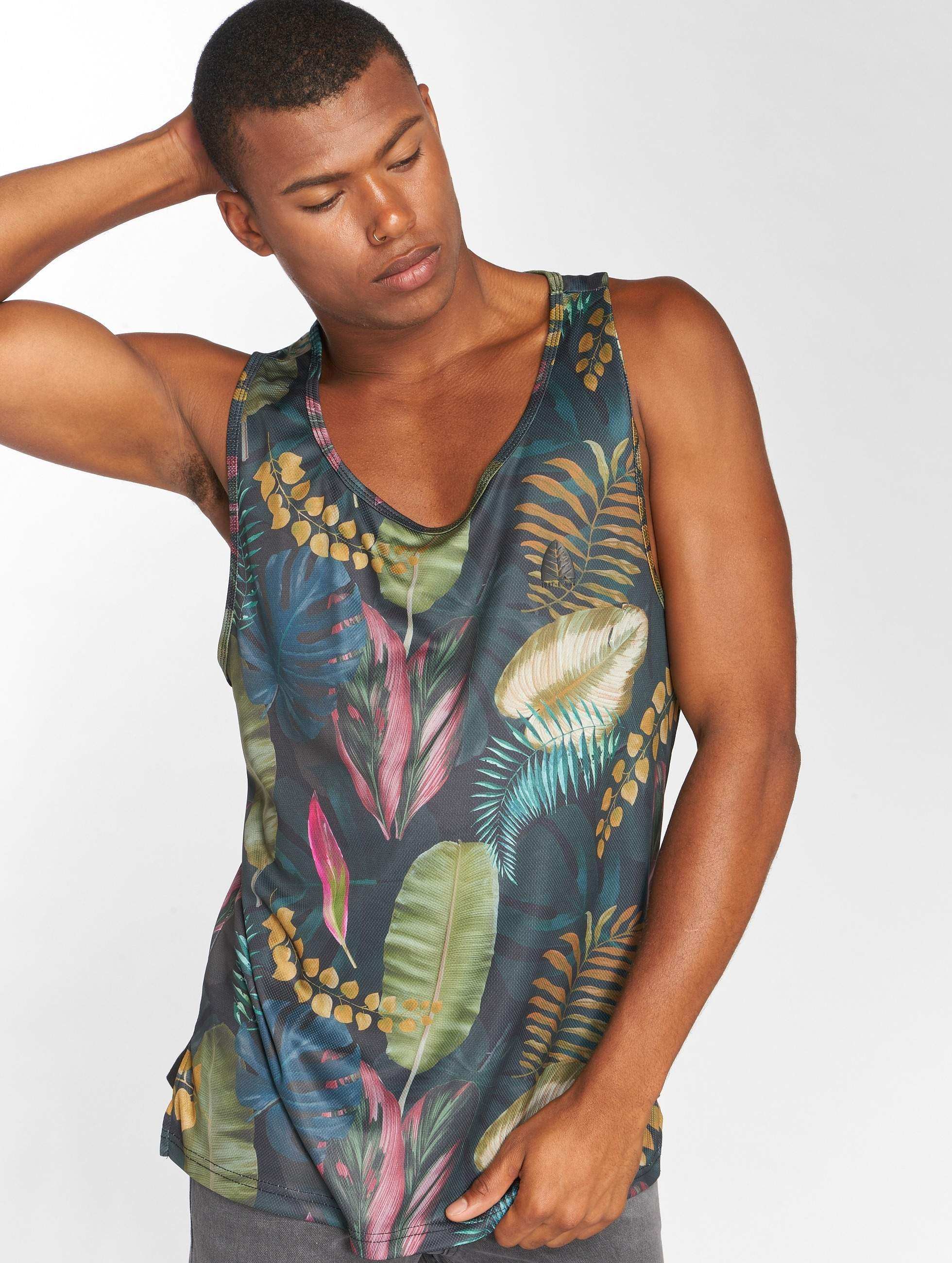 Just Rhyse / Tank Tops Capachica in green XL