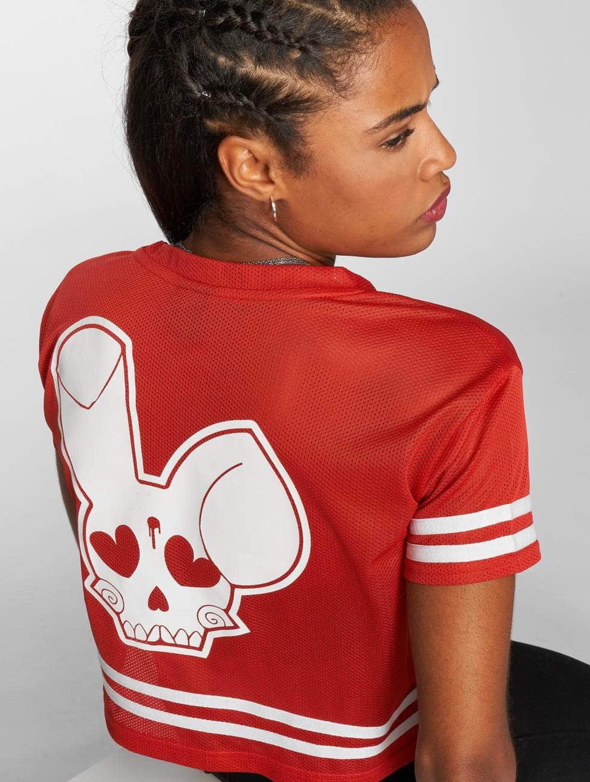Who Shot Ya? / T-Shirt Short Mesh in red XS
