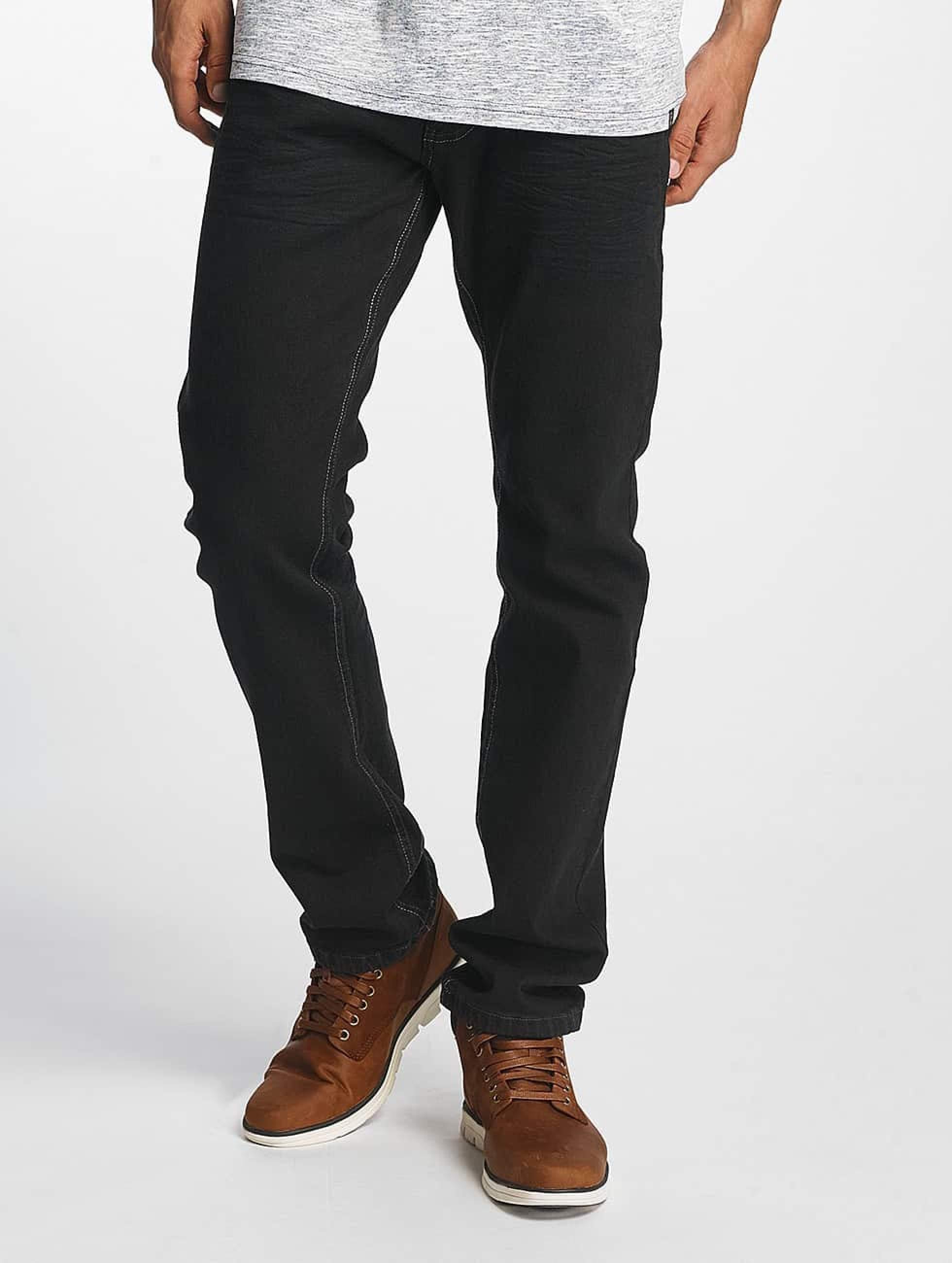ID Denim | Basic  noir Homme Jean coupe droite