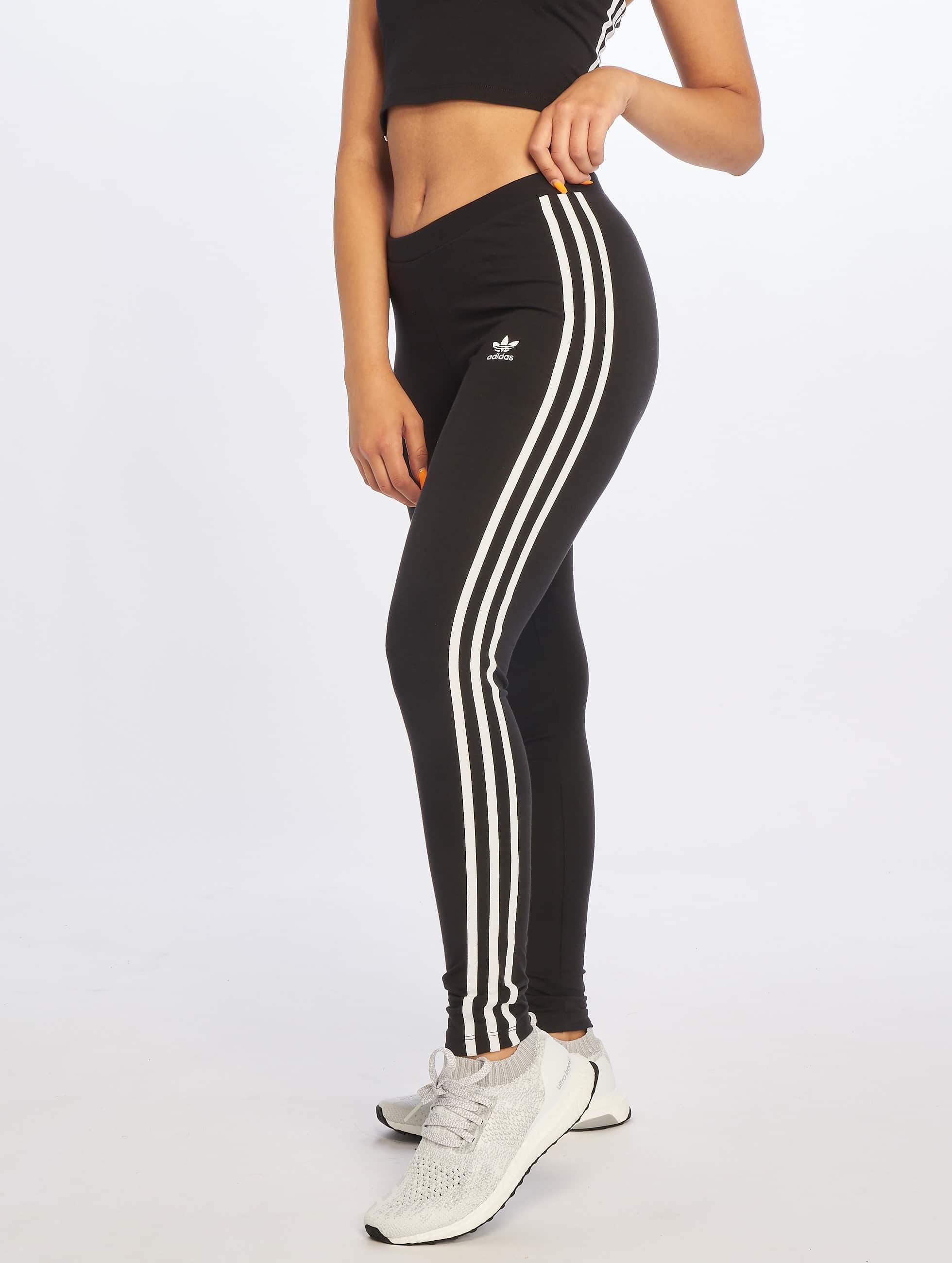Details zu adidas originals Damen Hosen Legging 3 Stripes