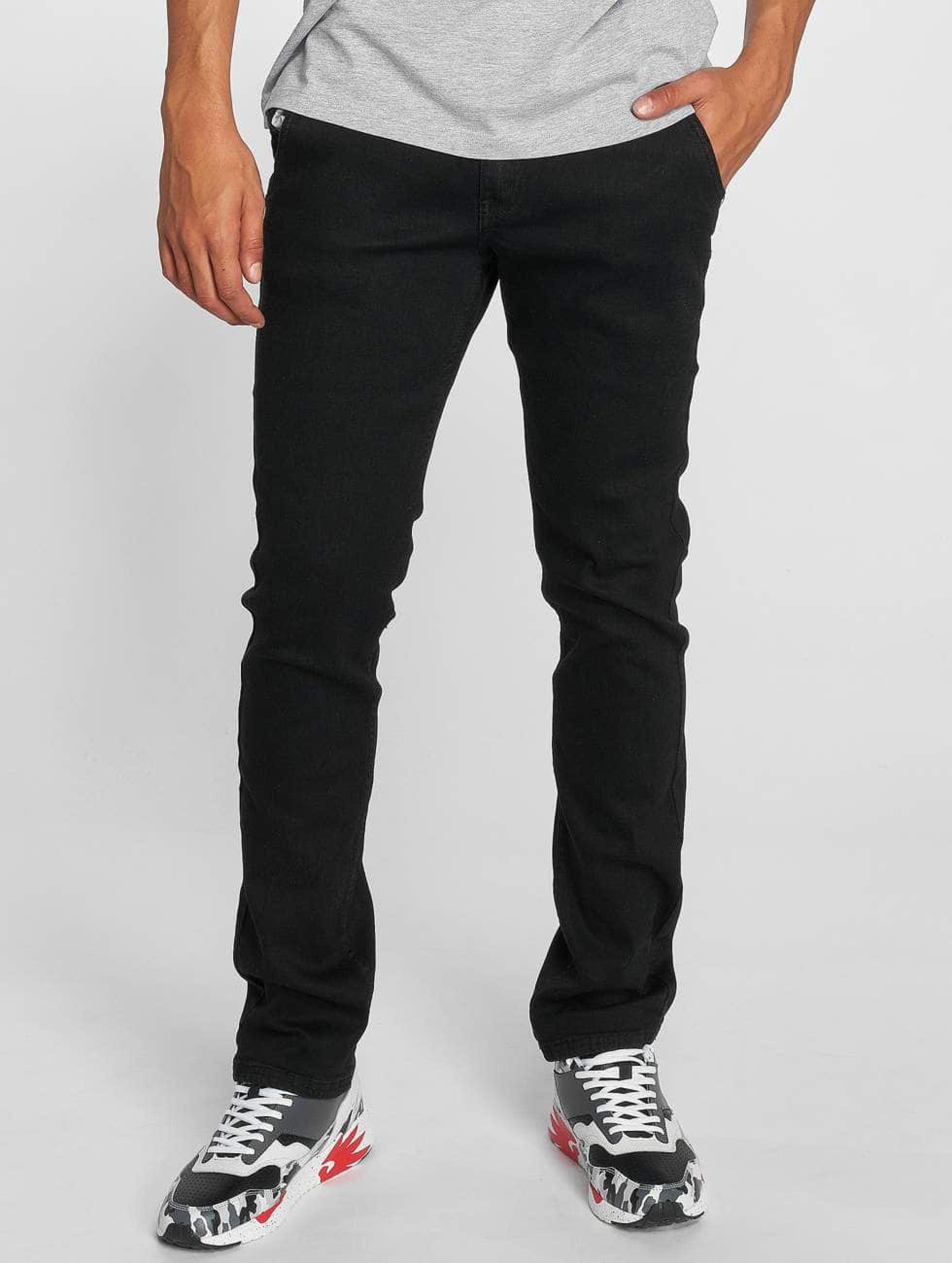 Dangerous DNGRS / Straight Fit Jeans Buddy in black W 42 L 34