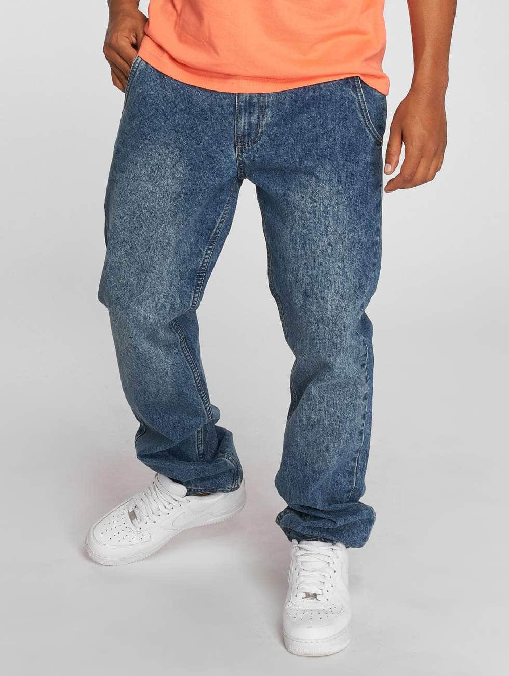 Dangerous DNGRS / Straight Fit Jeans Buddy in blue W 42 L 34
