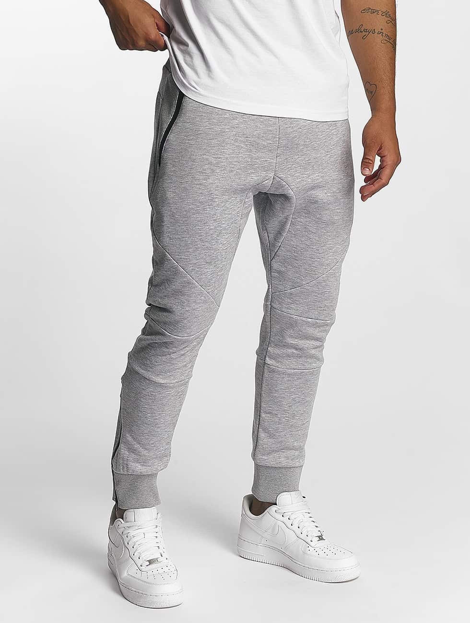 DEF / Sweat Pant Cross in grey 2XL