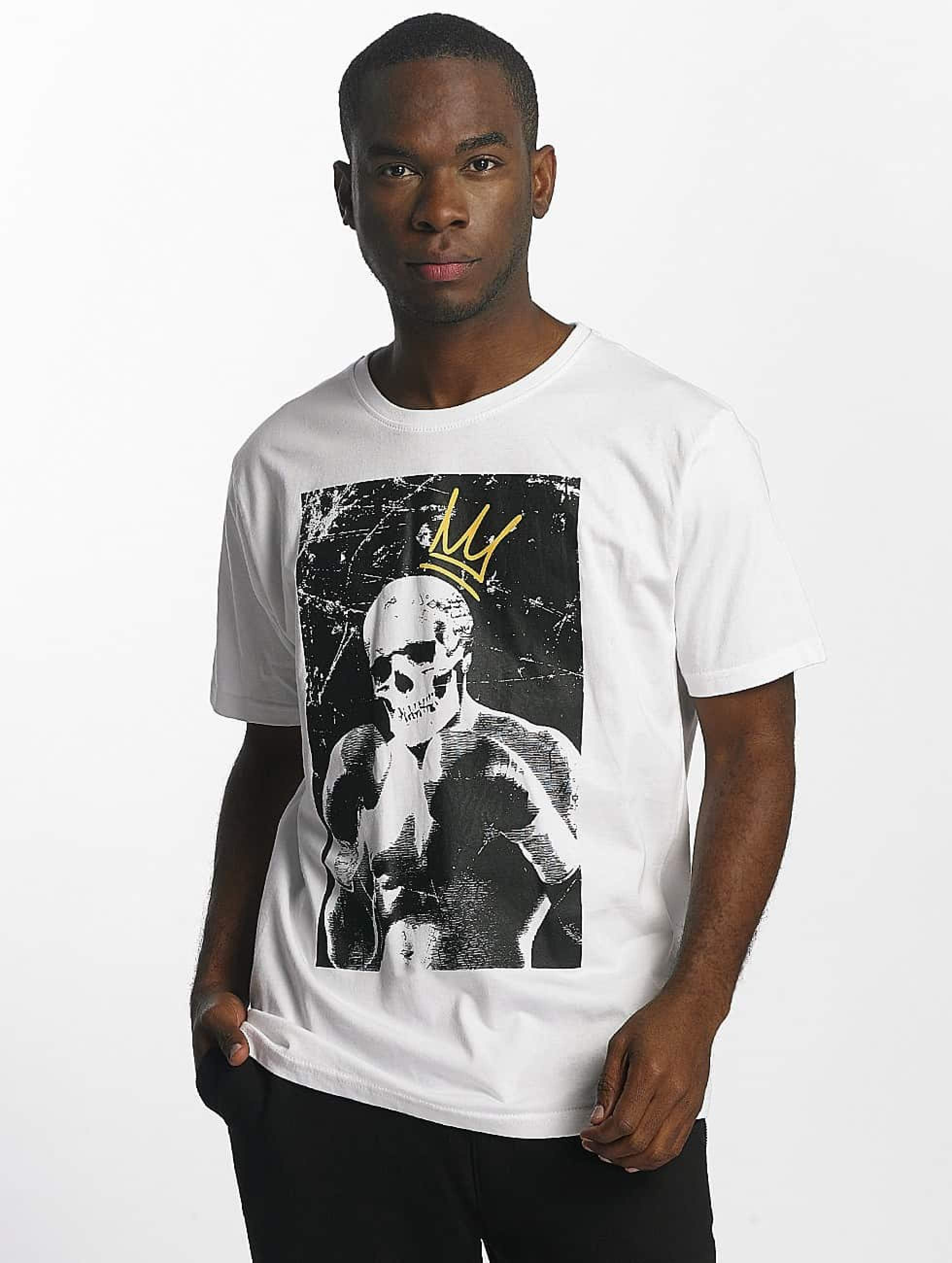 Dangerous DNGRS / T-Shirt Boxskull in white L