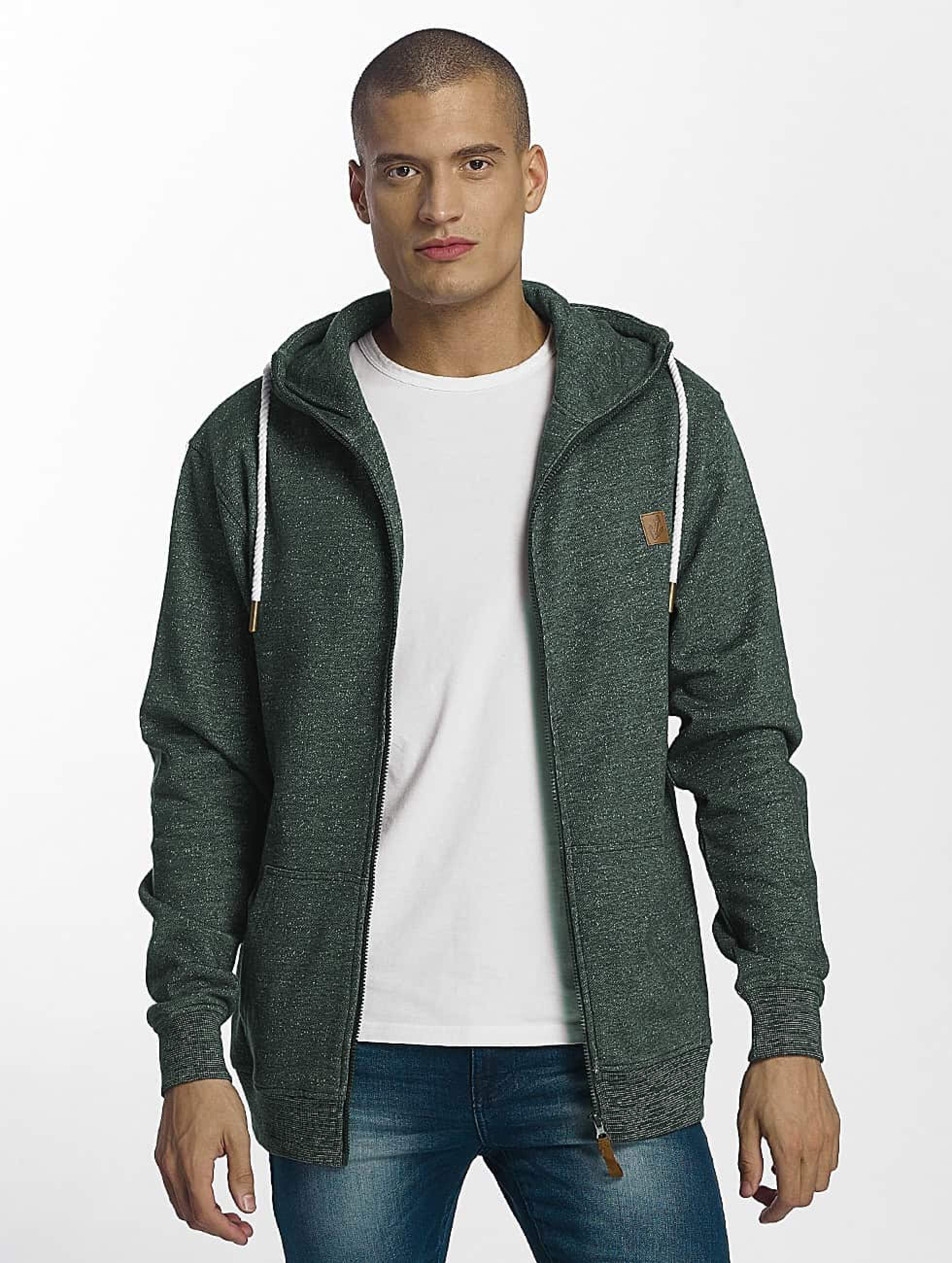 Platinum Anchor | Hookipa vert Homme Sweat capuche zippé