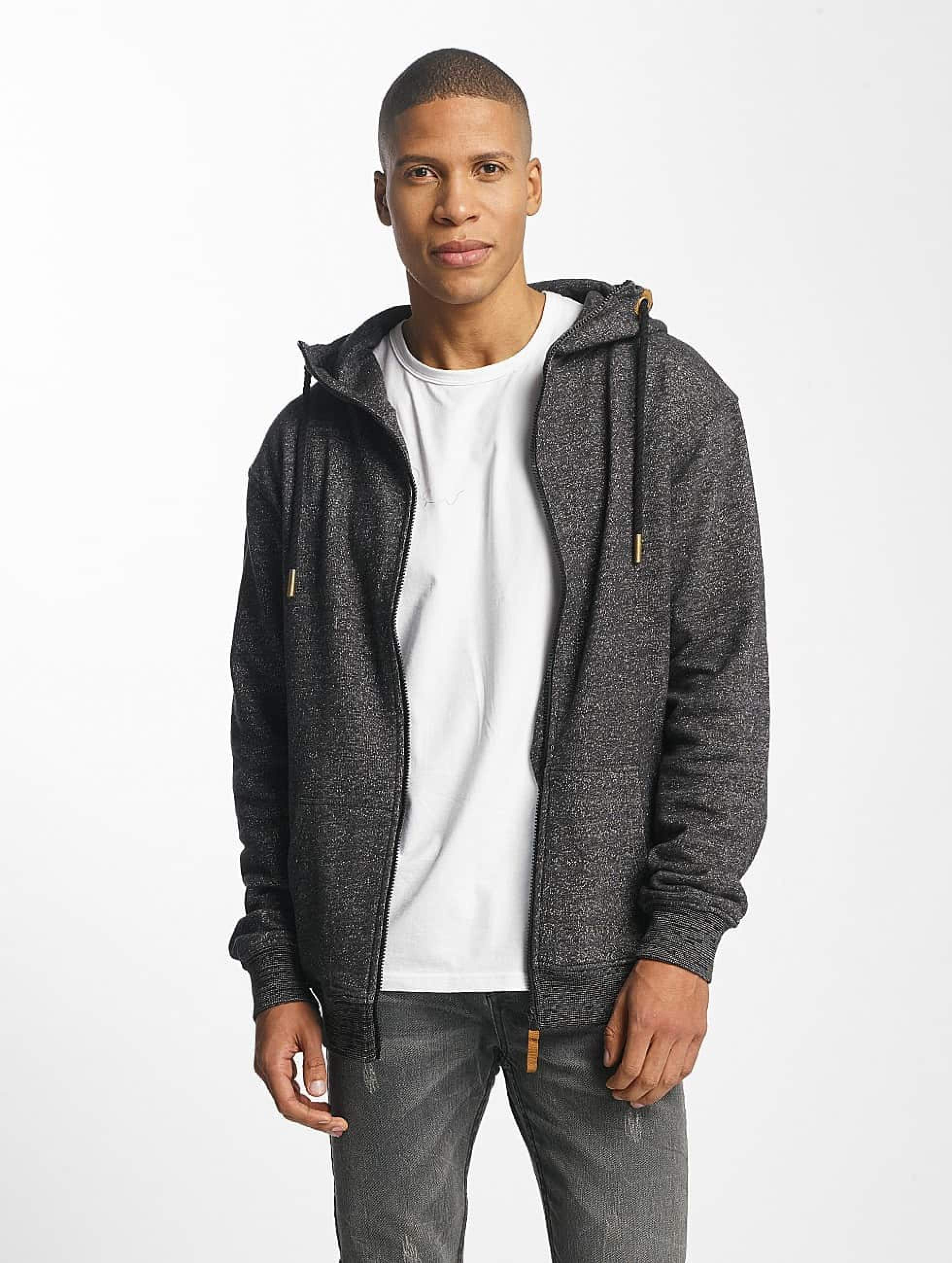 Platinum Anchor | Hookipa gris Homme Sweat capuche zippé