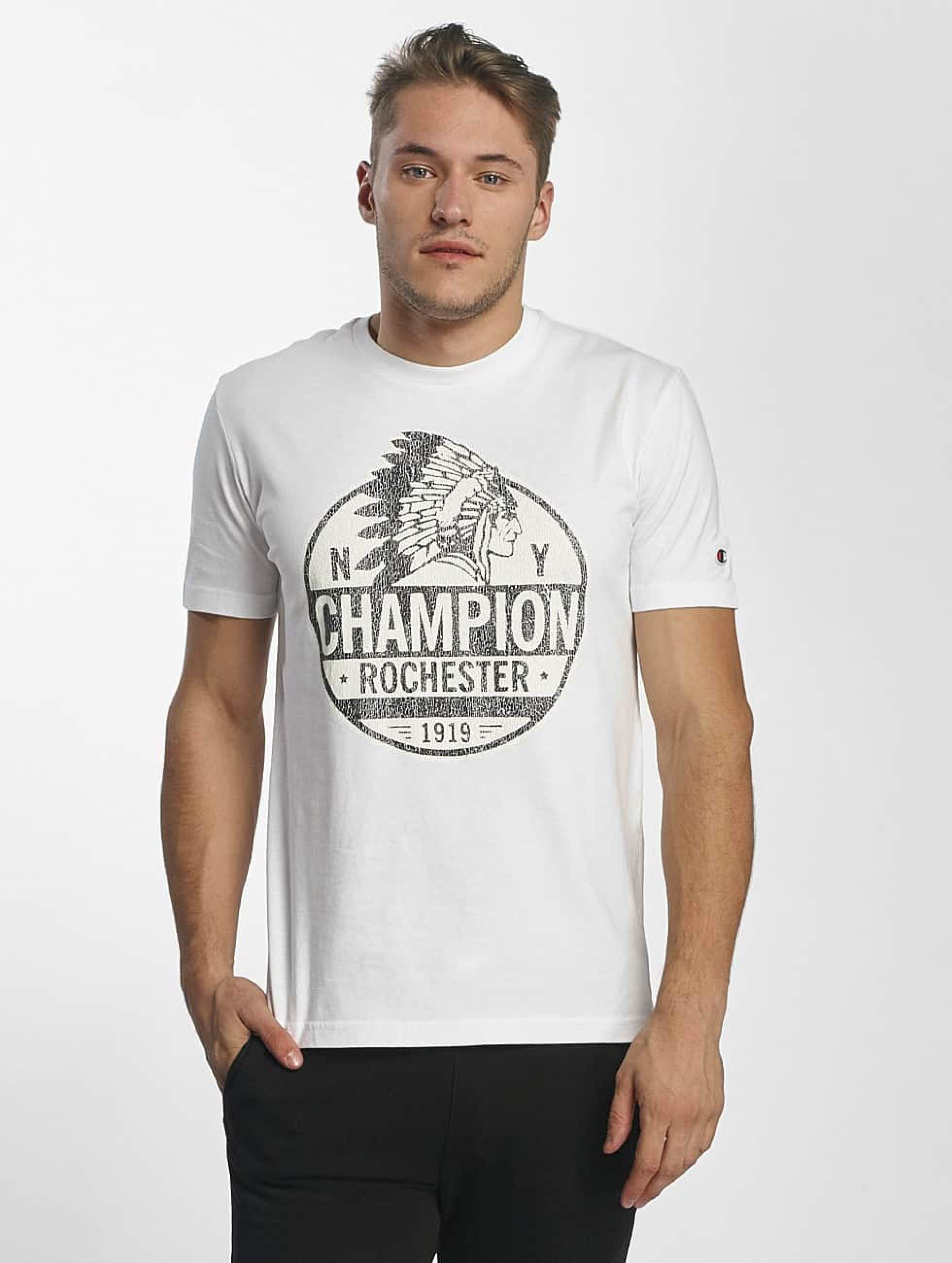 Champion Athletics Männer T-Shirt Rockefeller in weiß