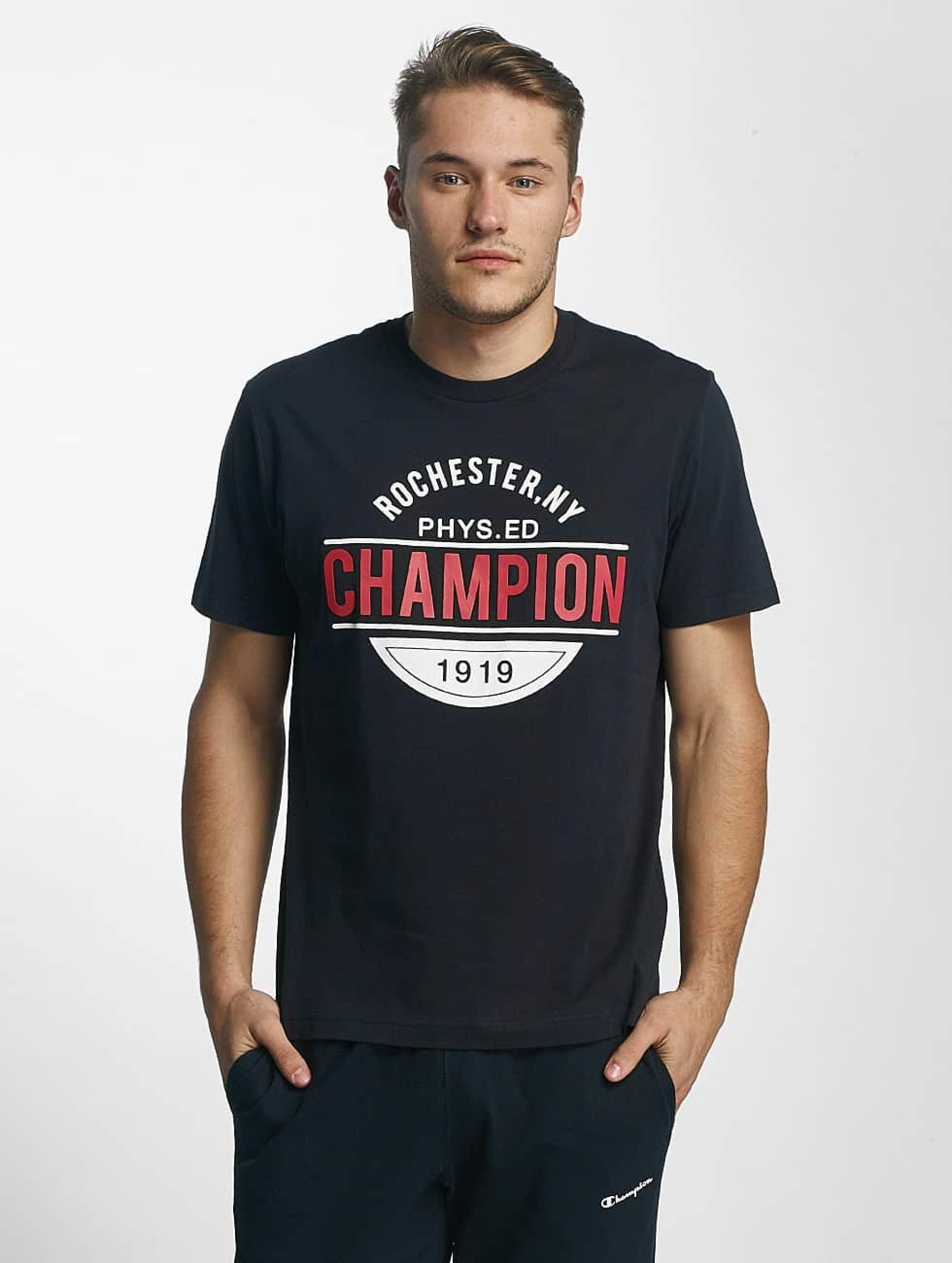 Champion Athletics Männer T-Shirt Rochester New York in blau