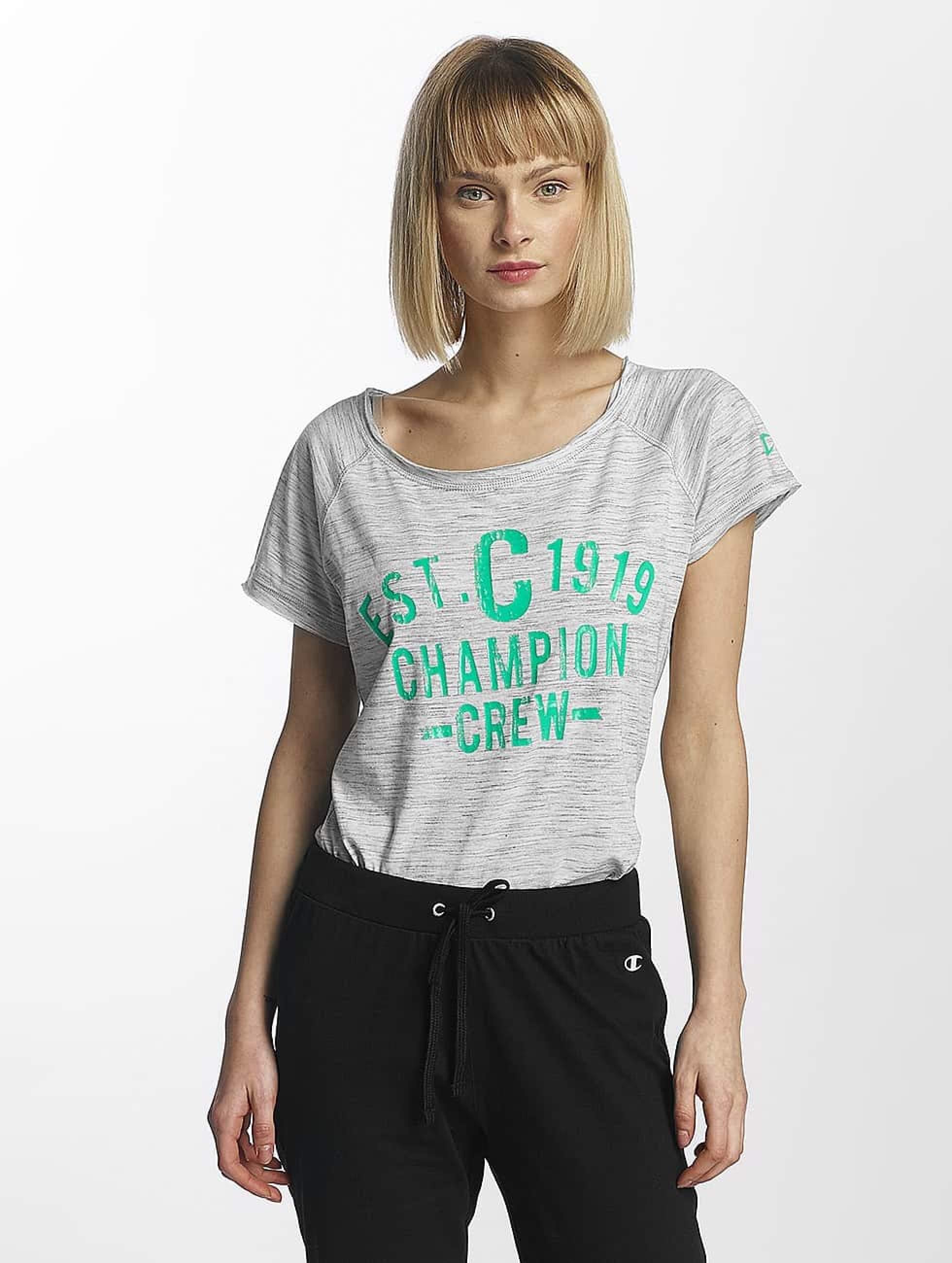 Champion Athletics Frauen T-Shirt Crew in weiß