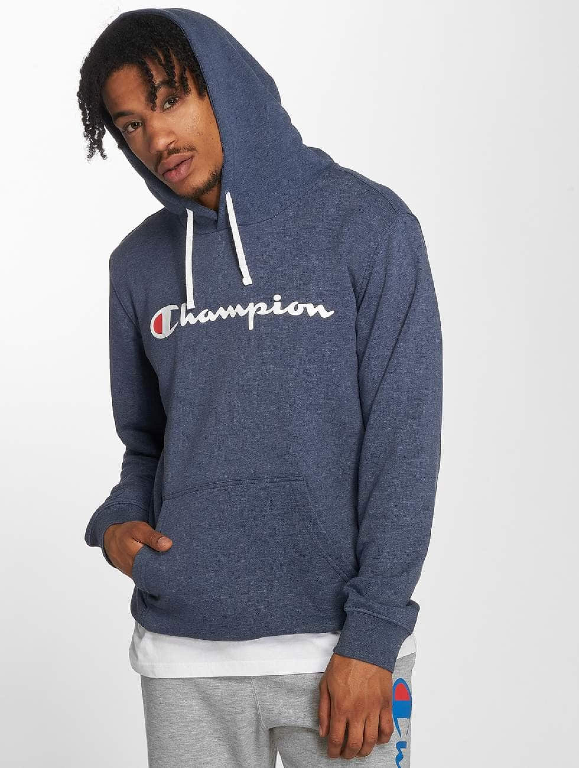 Champion Athletics Männer Hoody Authentic Athletic Apparel in blau