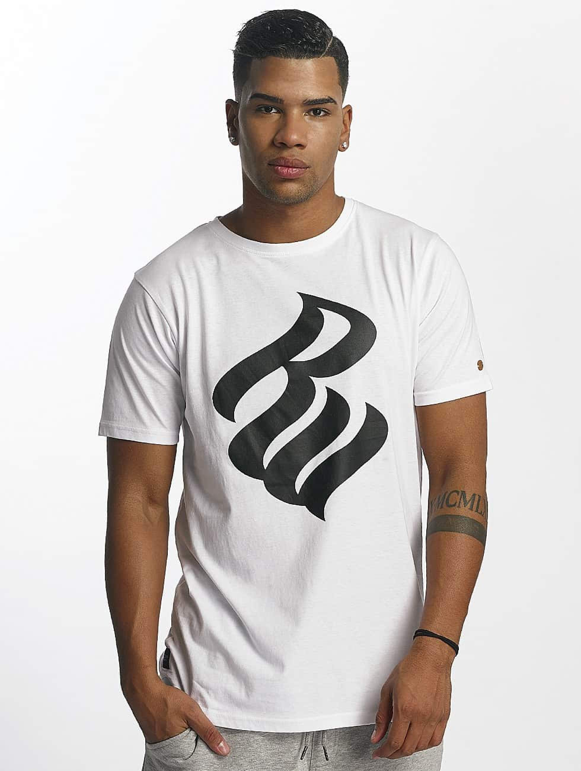 Rocawear / T-Shirt Logo in white S