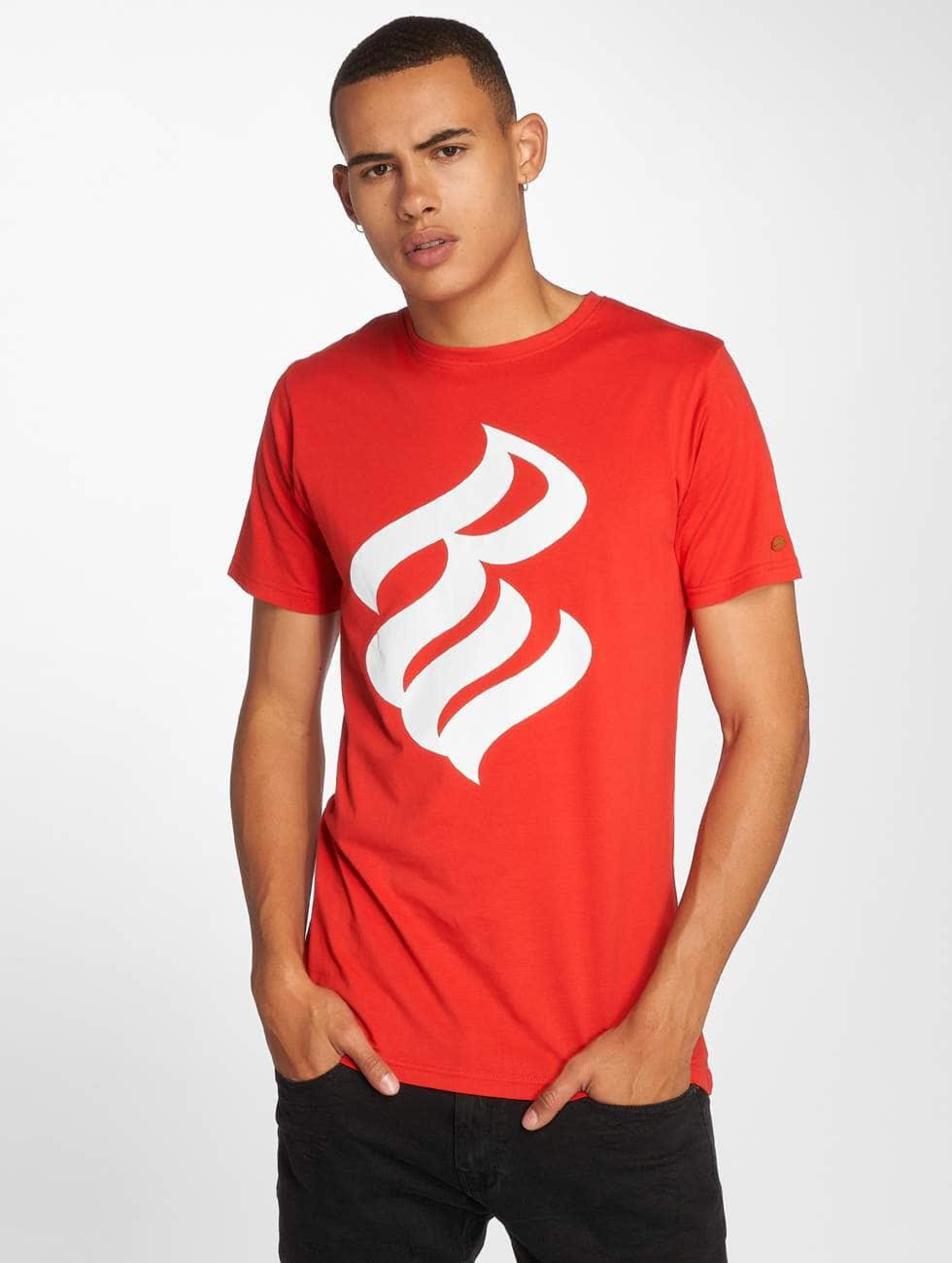 Rocawear / T-Shirt Logo in red S