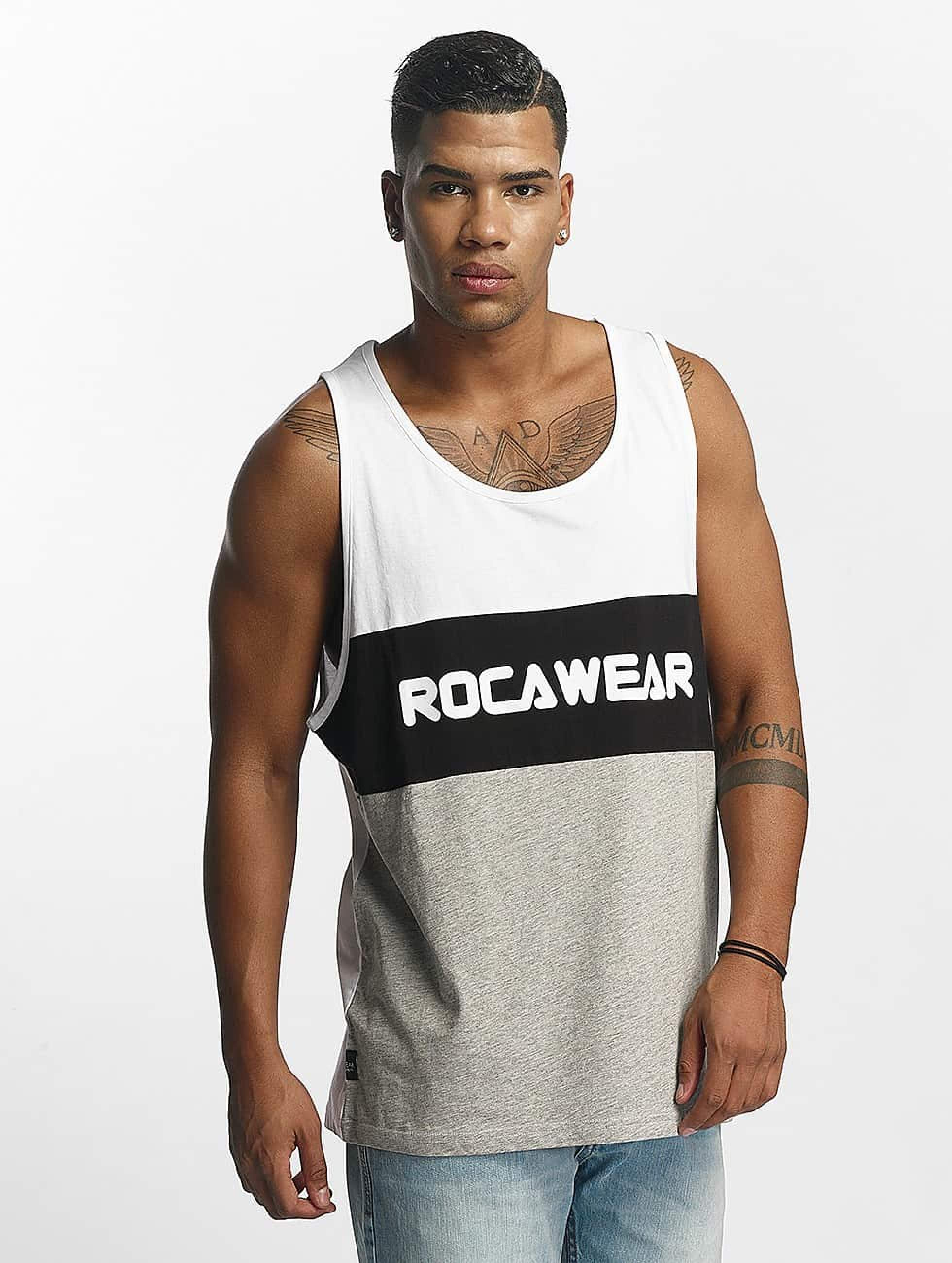 Rocawear / Tank Tops Color Block in white S