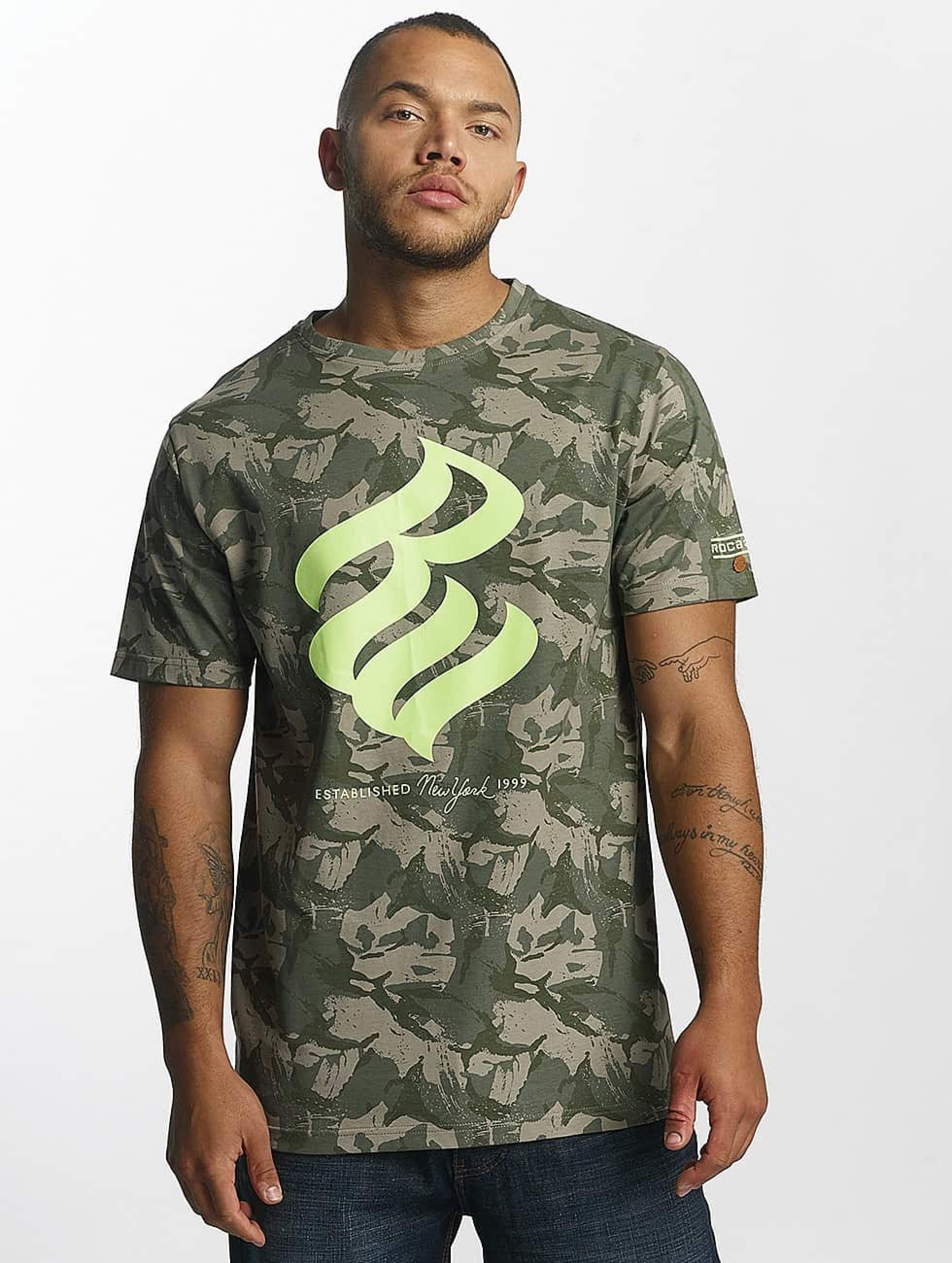 Rocawear / T-Shirt NY 1999 T in camouflage S