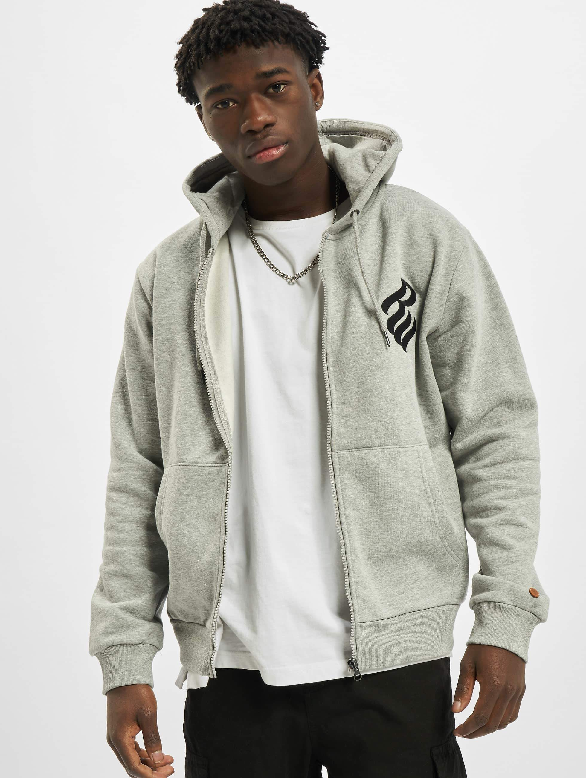 Rocawear / Zip Hoodie Brand in grey XL