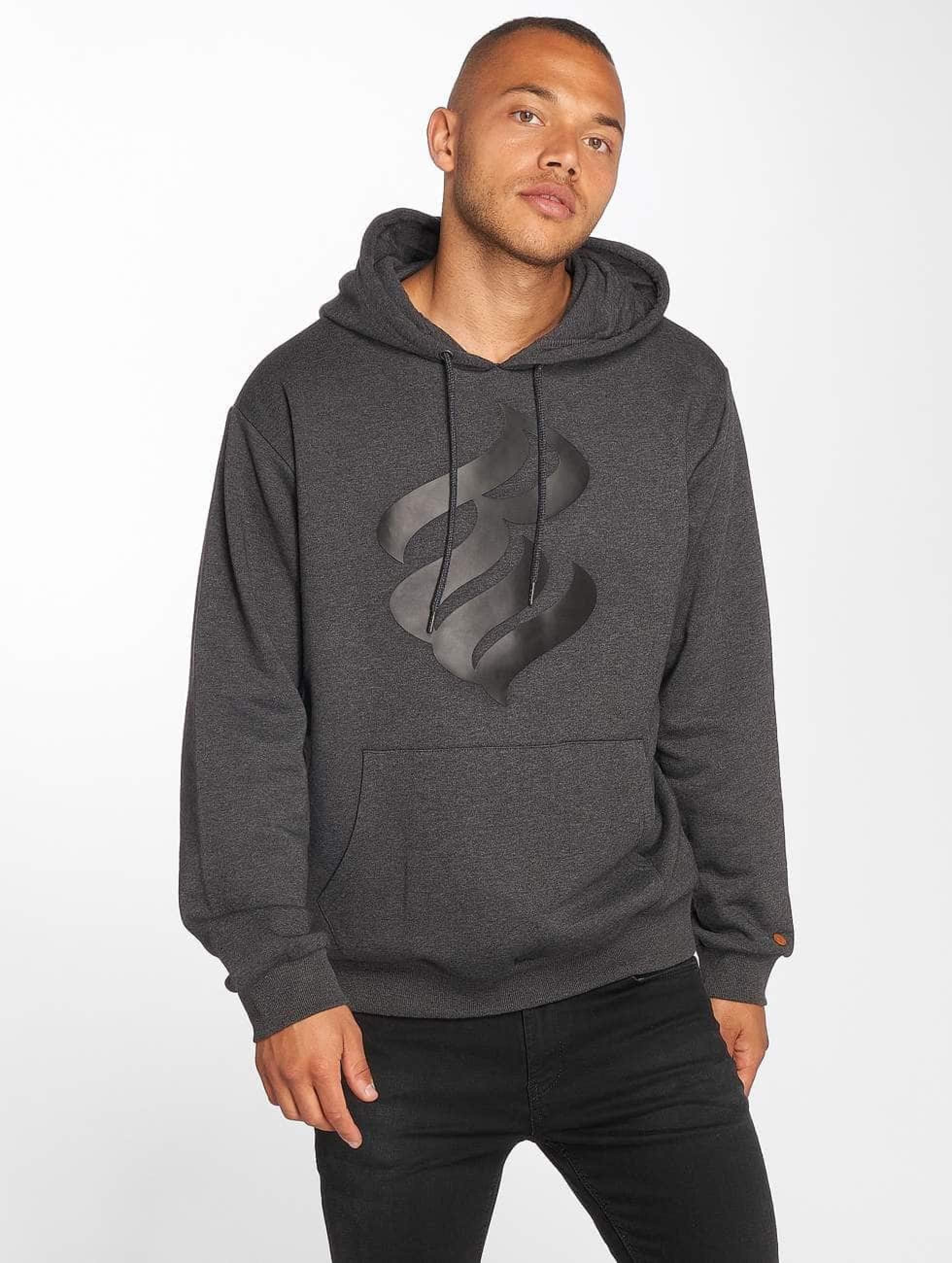 Rocawear / Hoodie Basic in grey 4XL