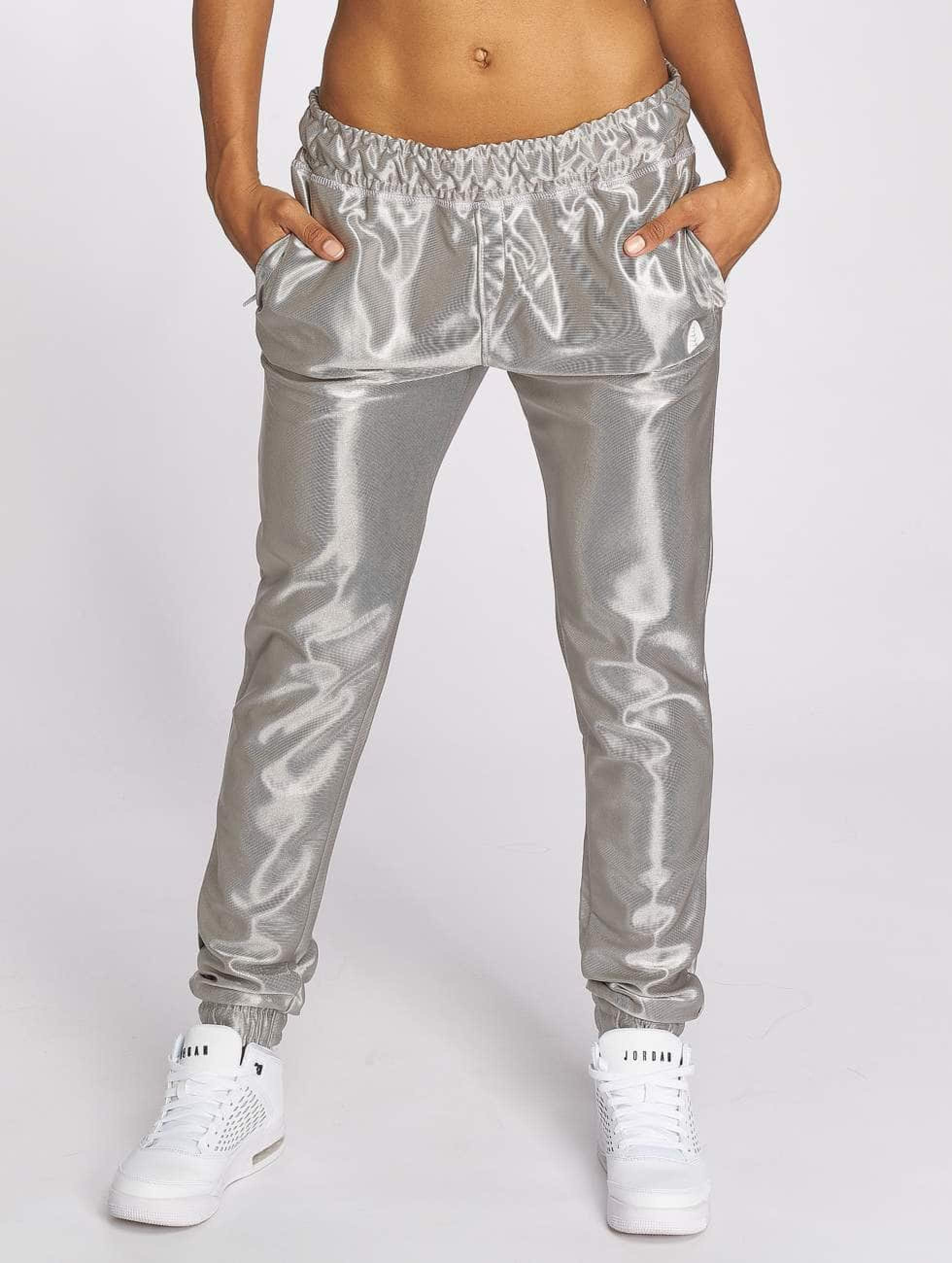 Just Rhyse / Sweat Pant Chicosa in silver colored XS