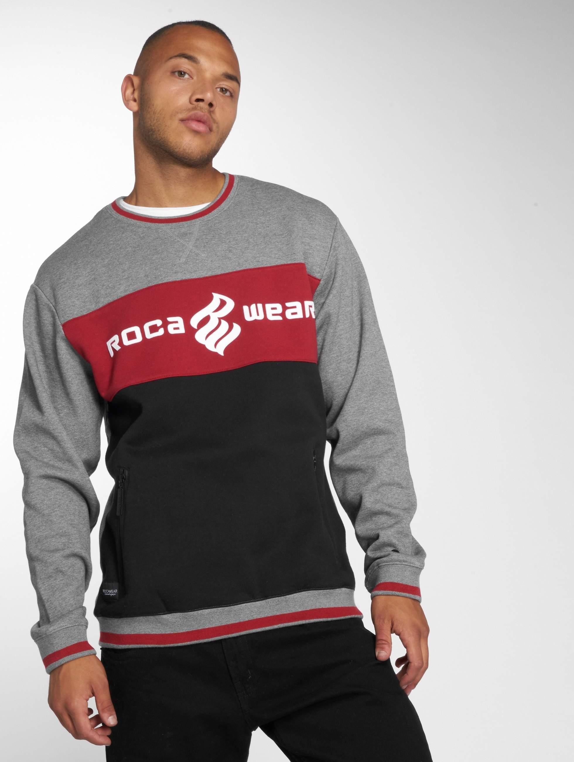 Rocawear / Jumper 3 Tone in grey XL