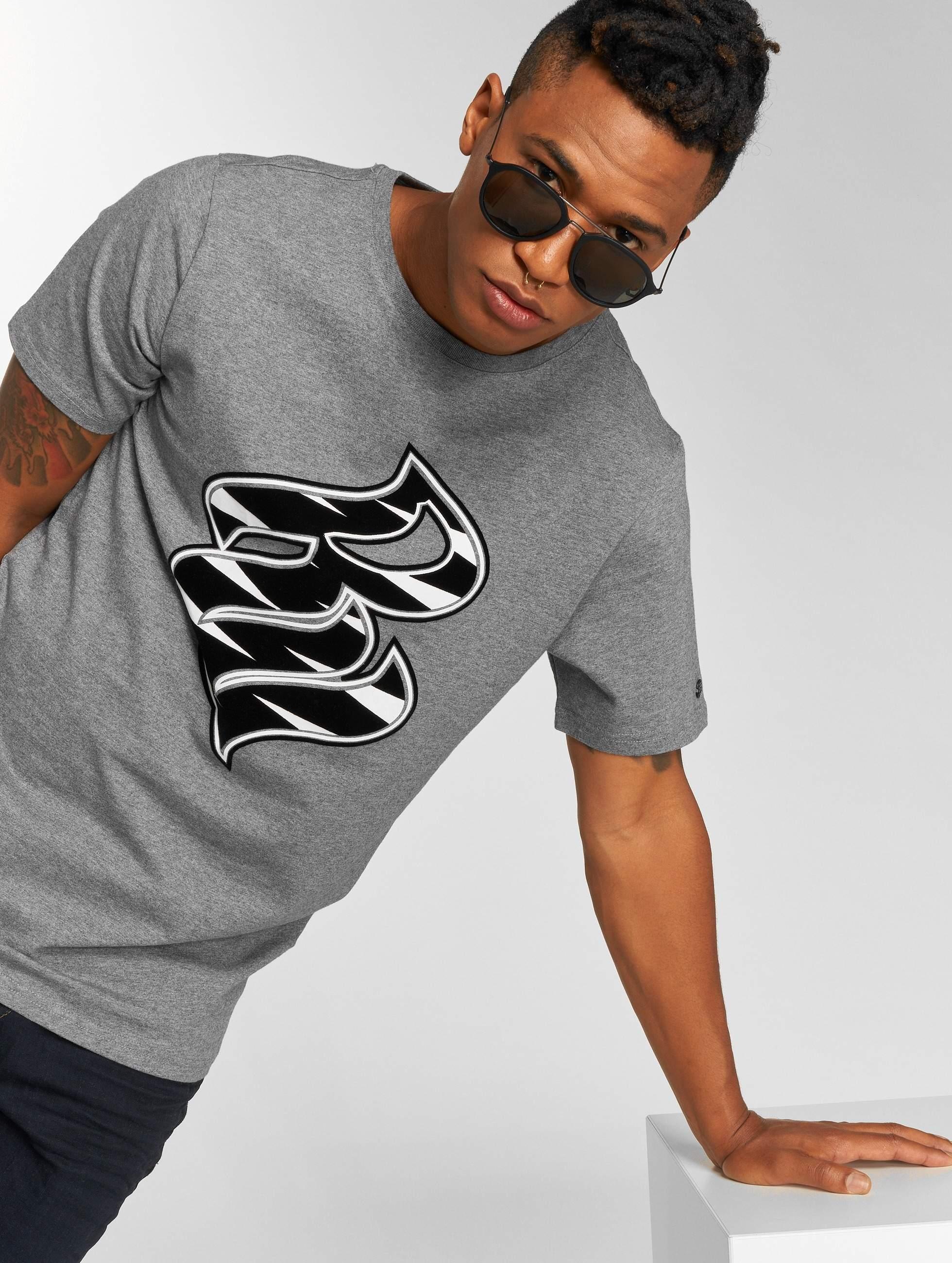 Rocawear / T-Shirt RW Zebra S in grey 3XL