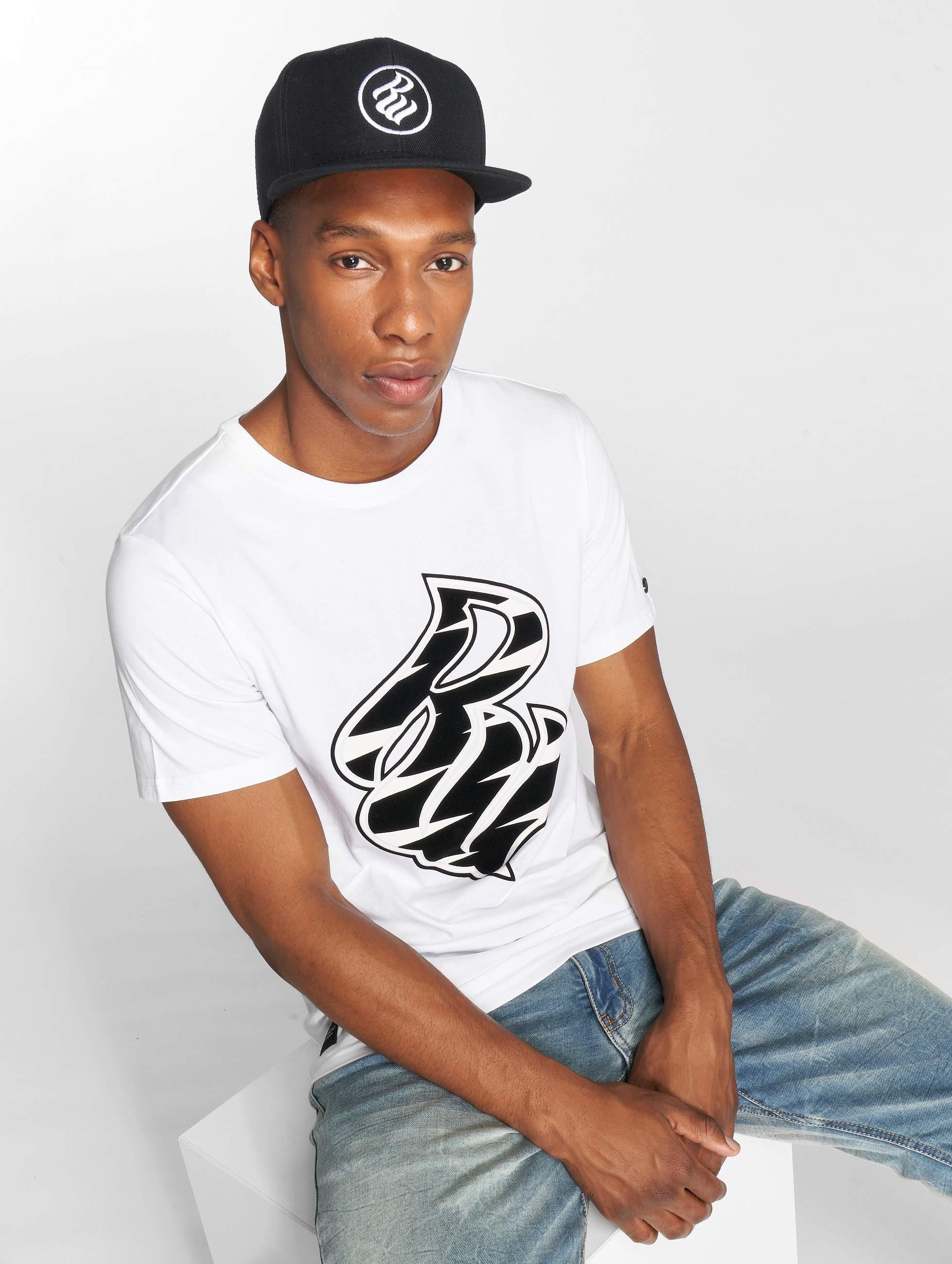 Rocawear / T-Shirt RW Zebra S in white XL