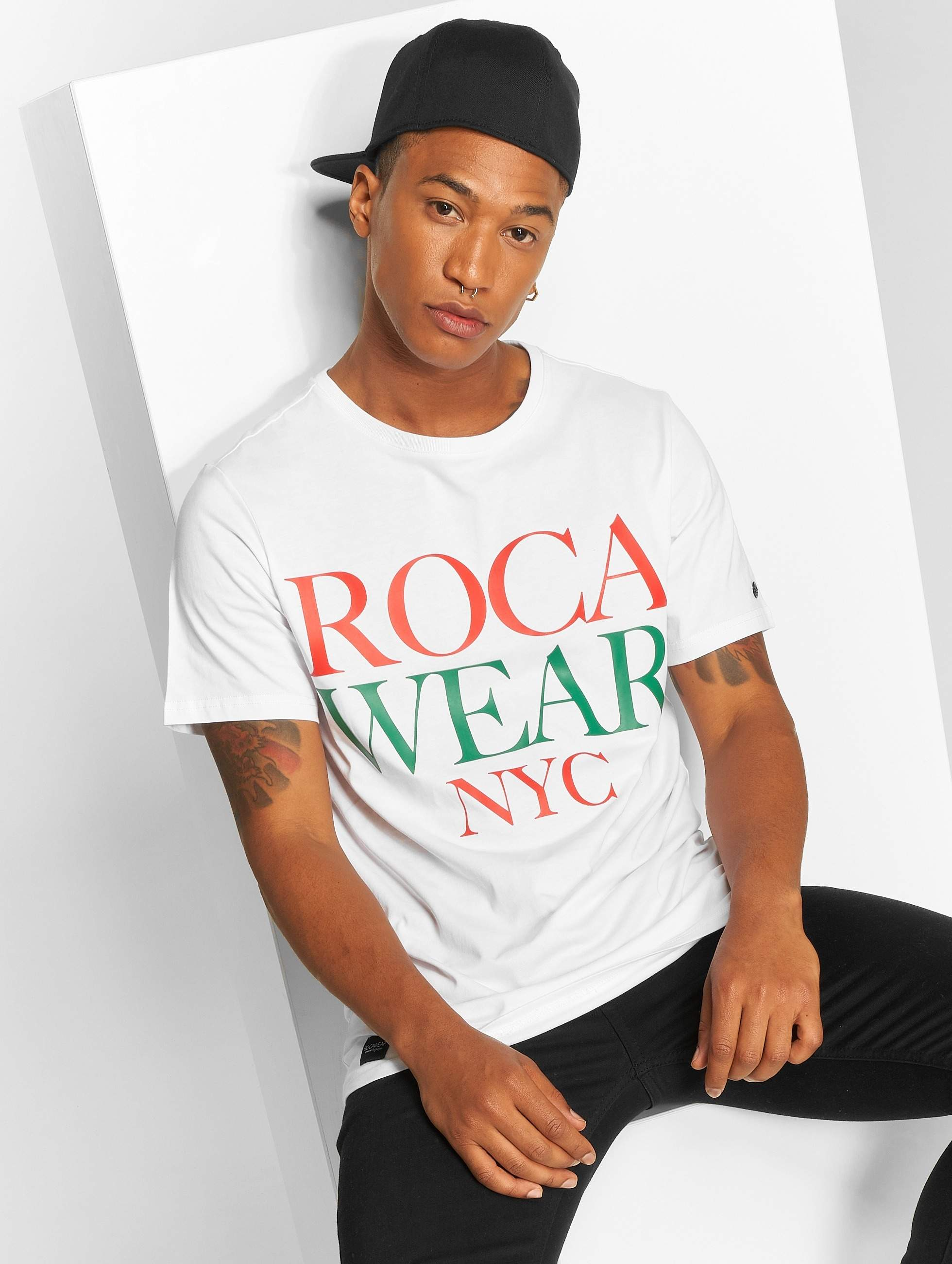Rocawear / T-Shirt NYC in white L